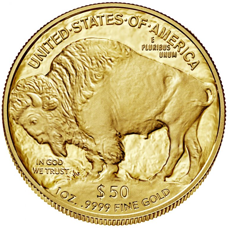 2017 American Buffalo One Ounce Gold Proof Coin Reverse