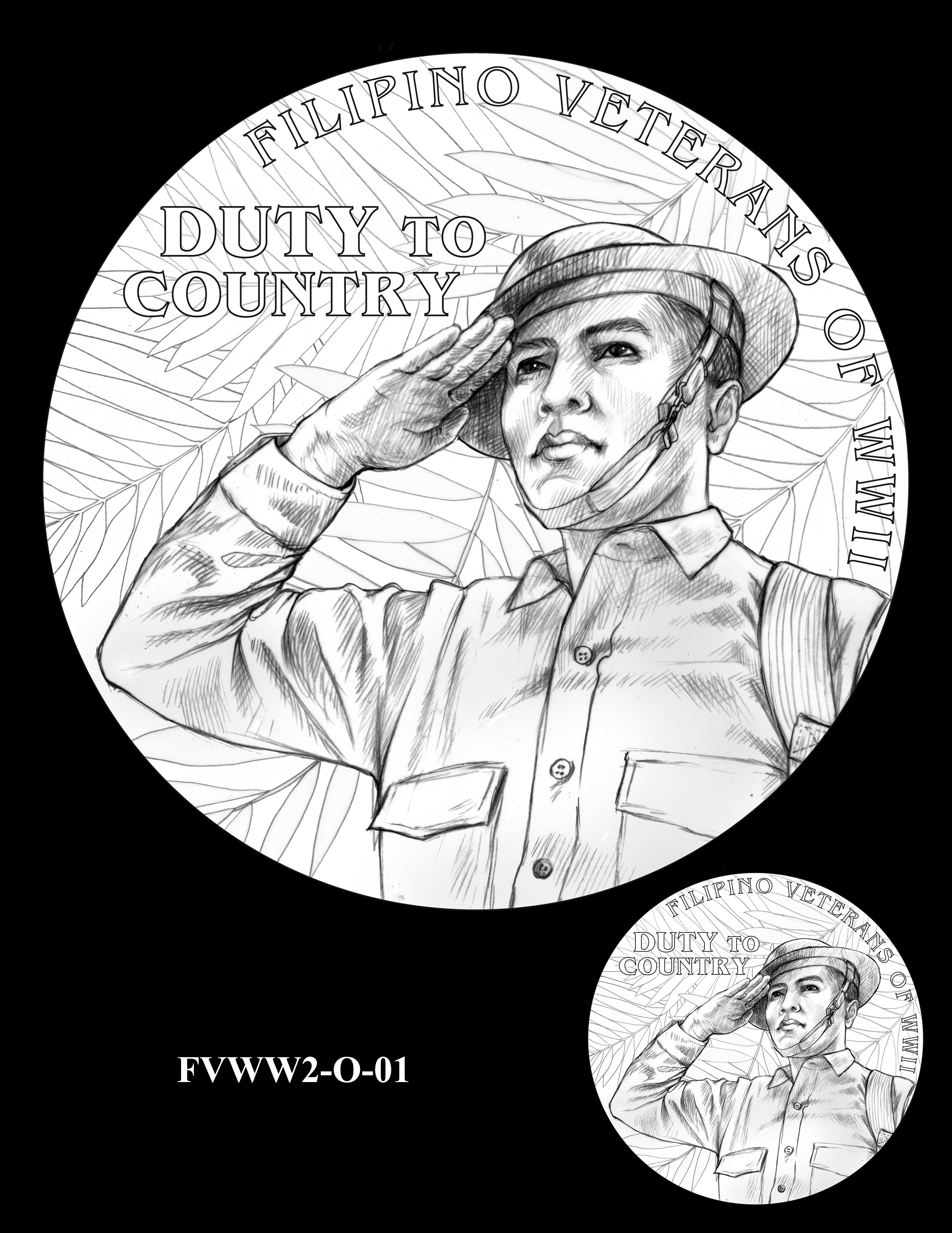 FVWW2-O-01 -- Filipino Veterans of World War II Congressional Gold Medal