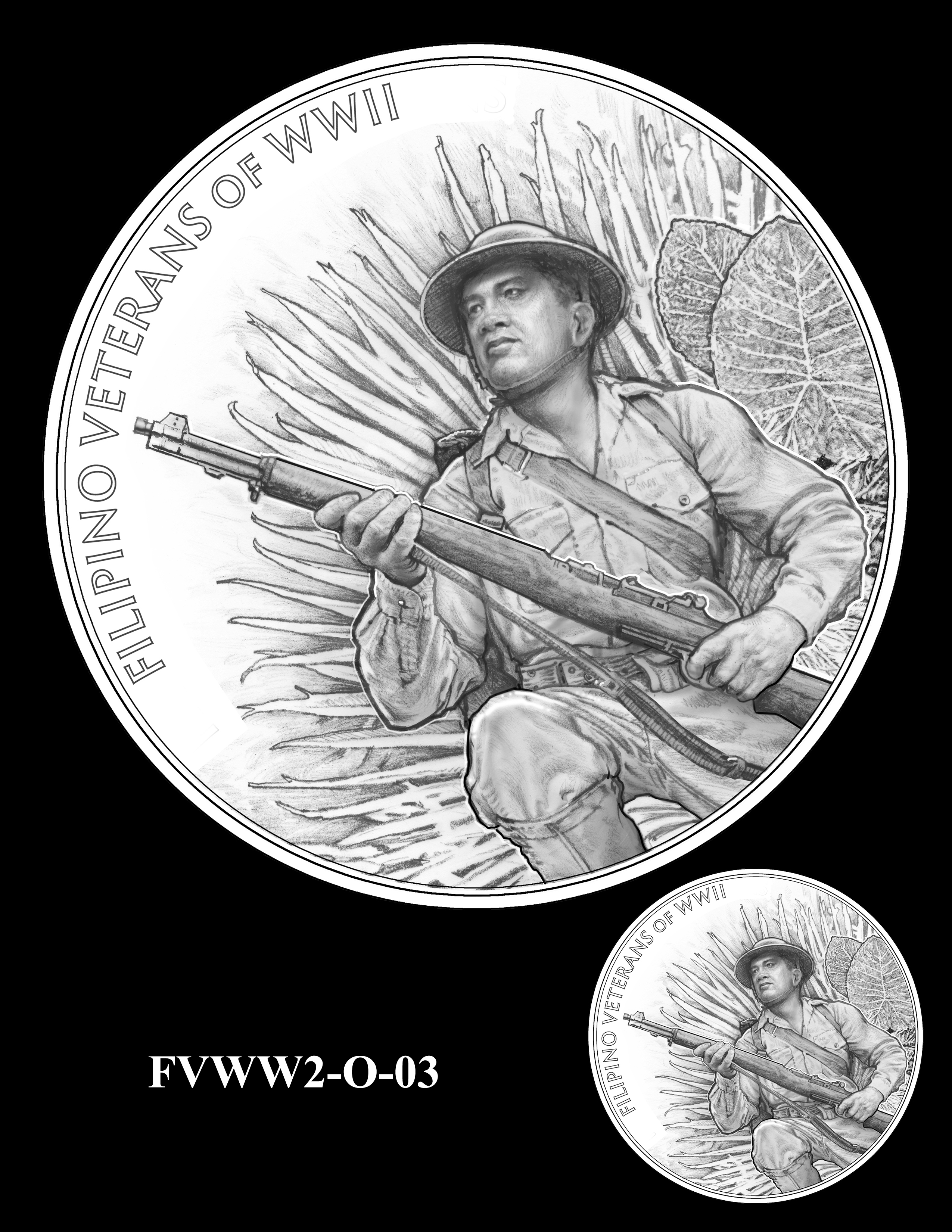 FVWW2-O-03 -- Filipino Veterans of World War II Congressional Gold Medal