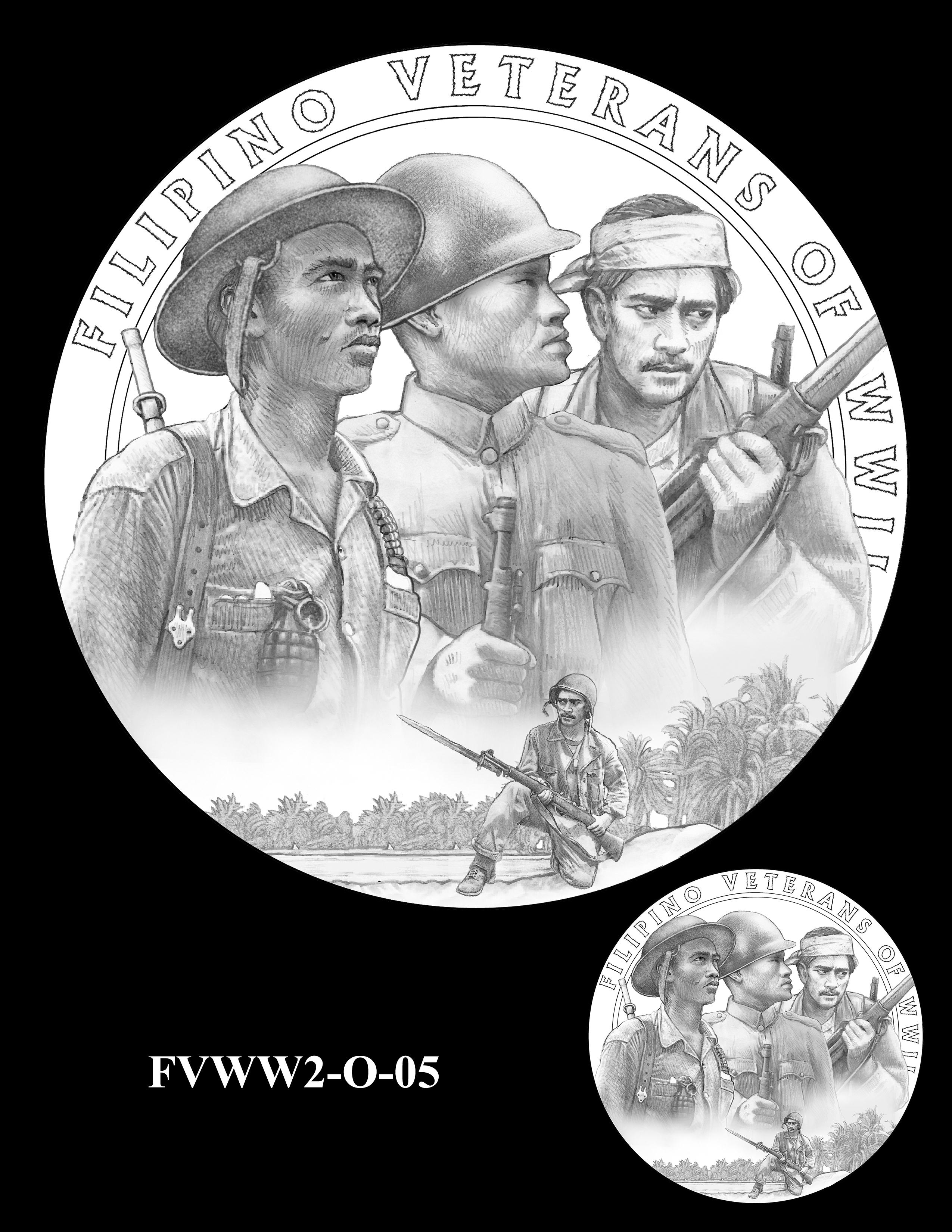 FVWW2-O-05 -- Filipino Veterans of World War II Congressional Gold Medal