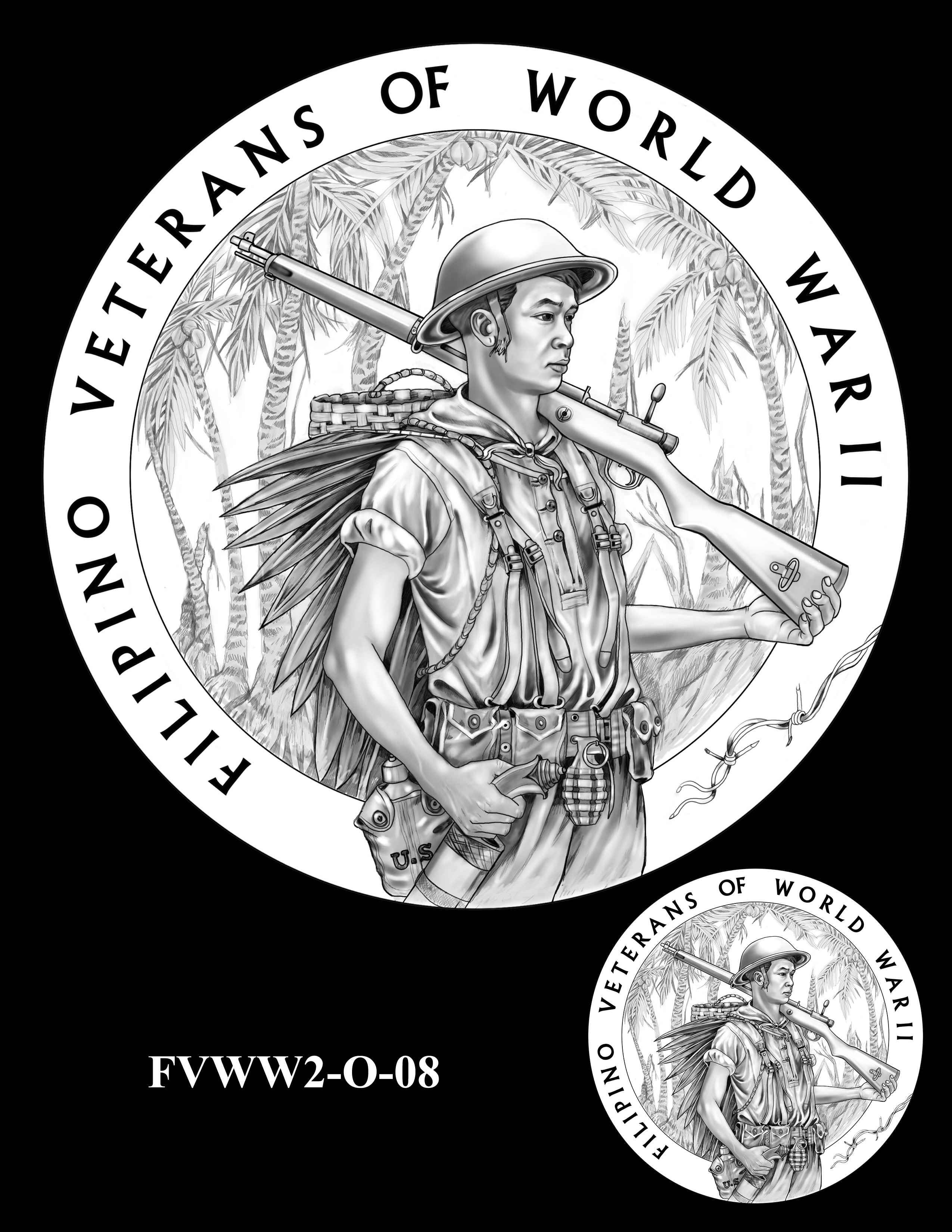 FVWW2-O-08 -- Filipino Veterans of World War II Congressional Gold Medal