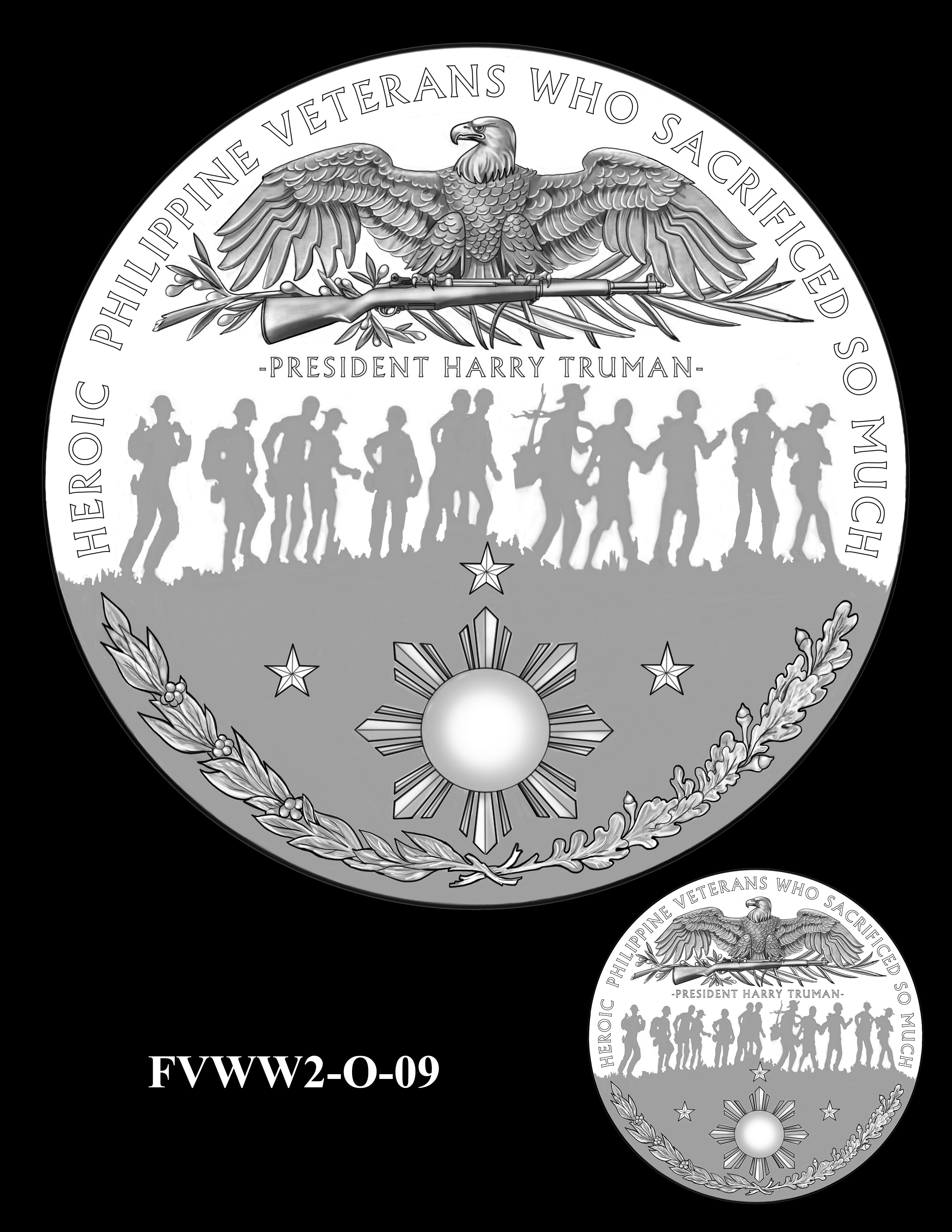 FVWW2-O-09 -- Filipino Veterans of World War II Congressional Gold Medal