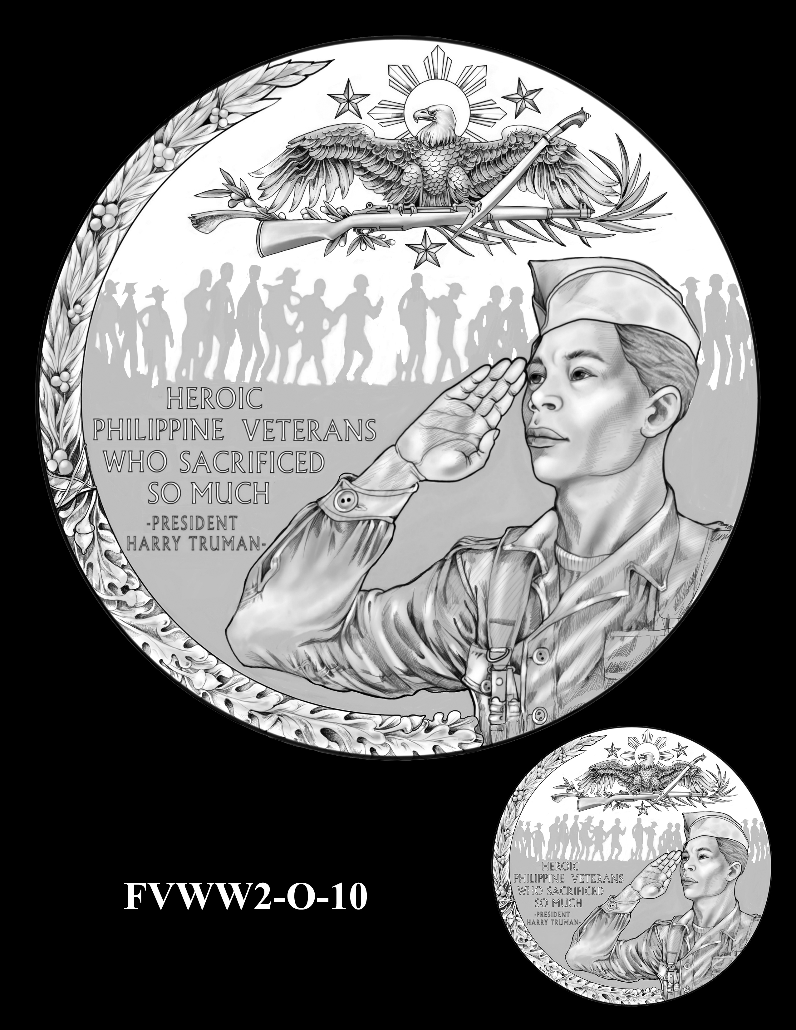 FVWW2-O-10 -- Filipino Veterans of World War II Congressional Gold Medal