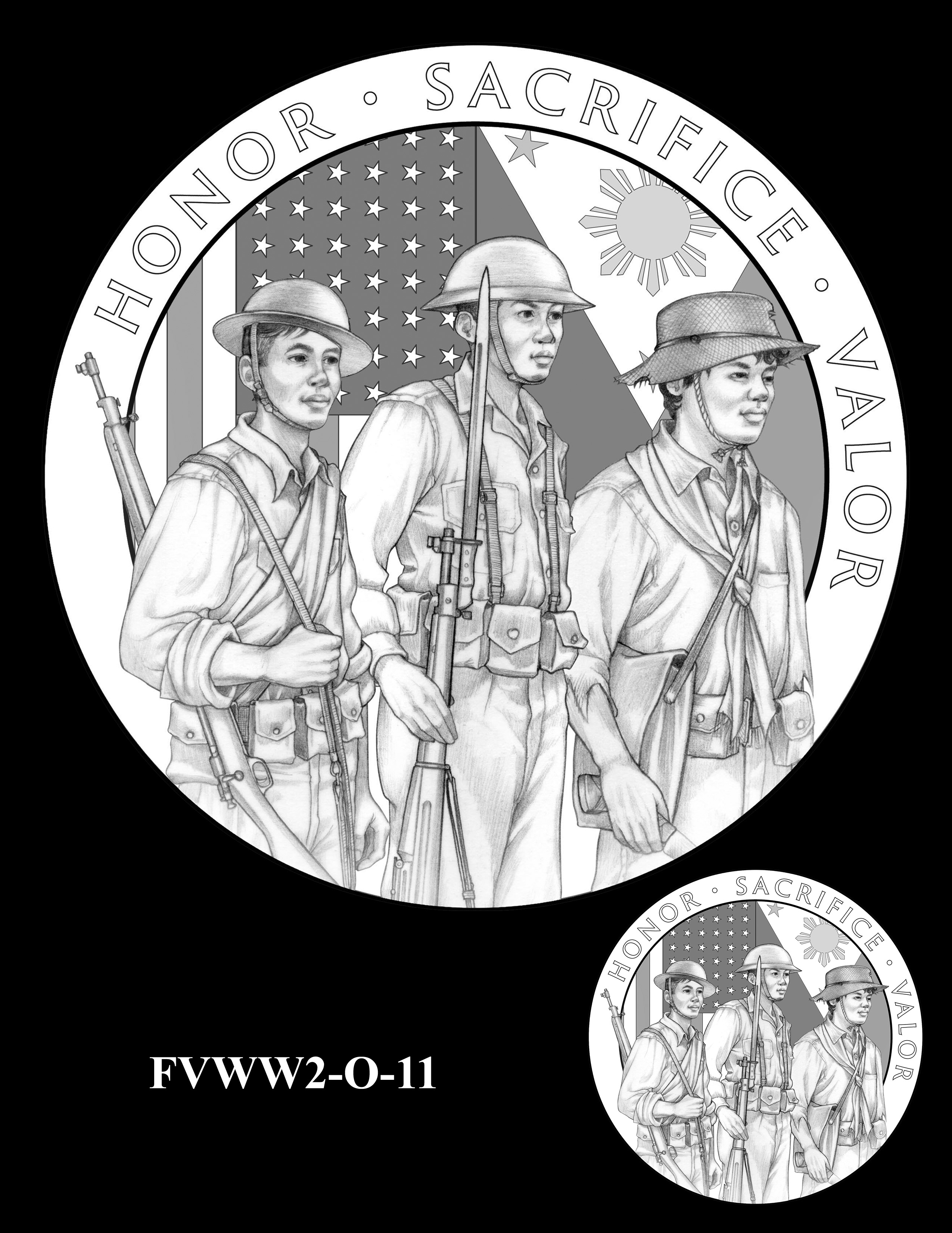 FVWW2-O-11 -- Filipino Veterans of World War II Congressional Gold Medal