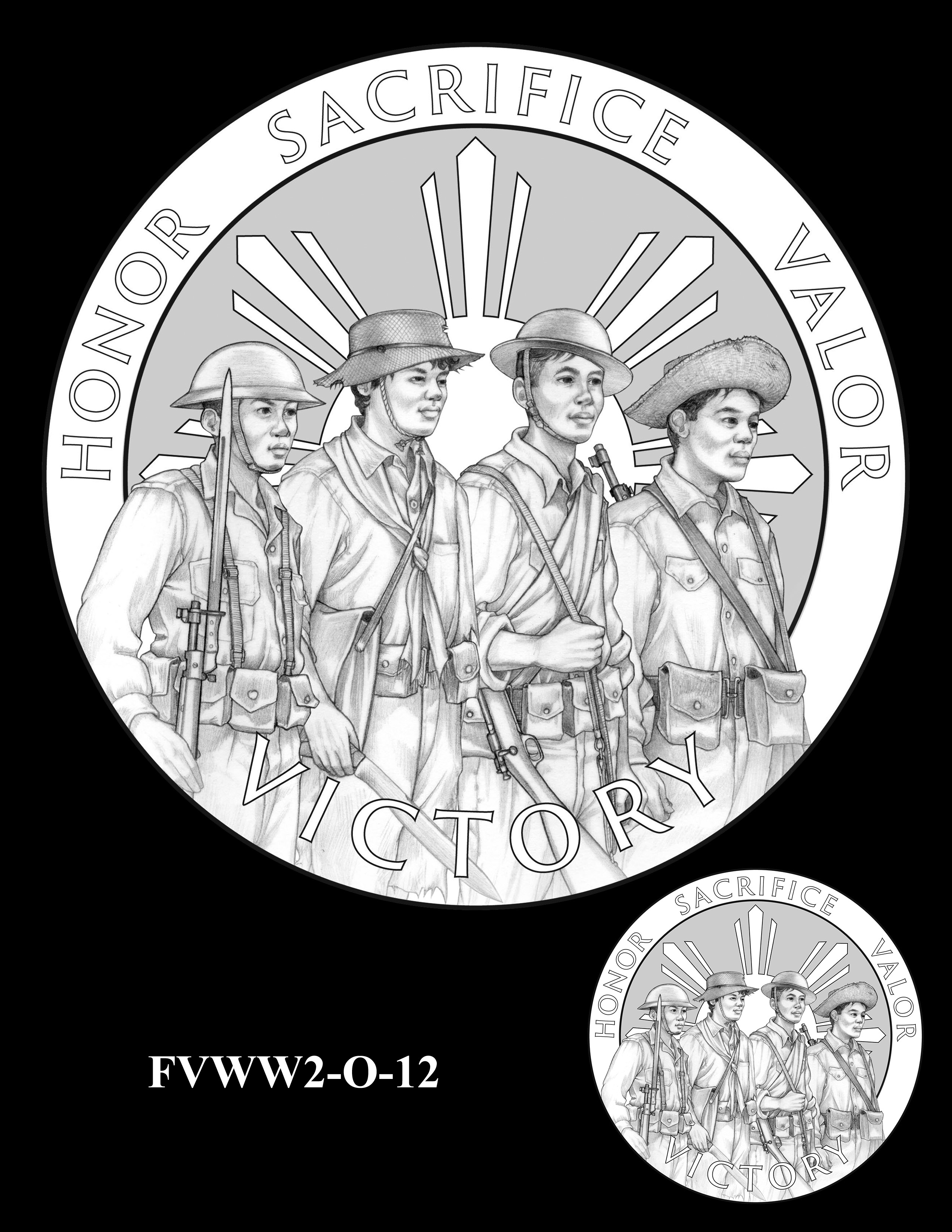 FVWW2-O-12 -- Filipino Veterans of World War II Congressional Gold Medal