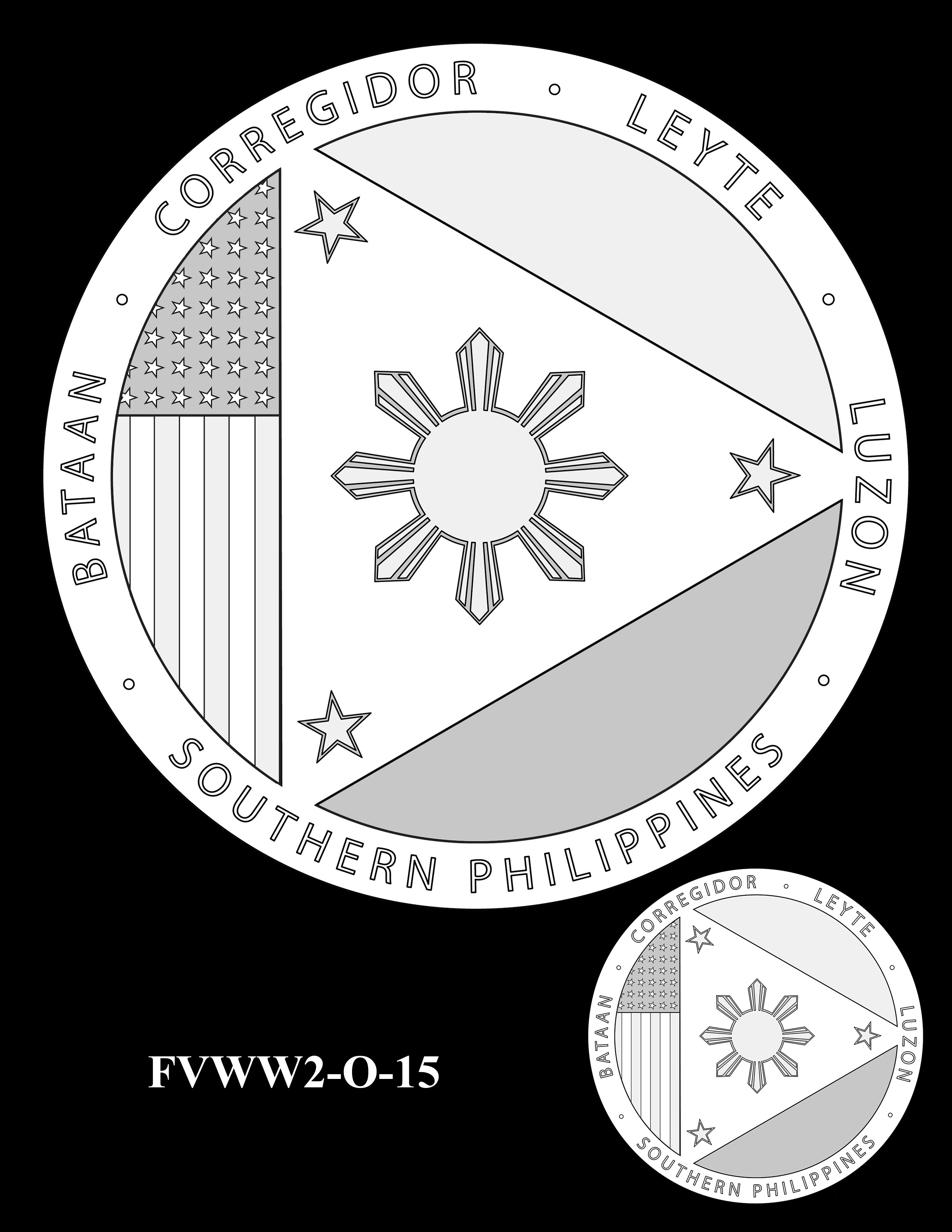 FVWW2-O-15 -- Filipino Veterans of World War II Congressional Gold Medal