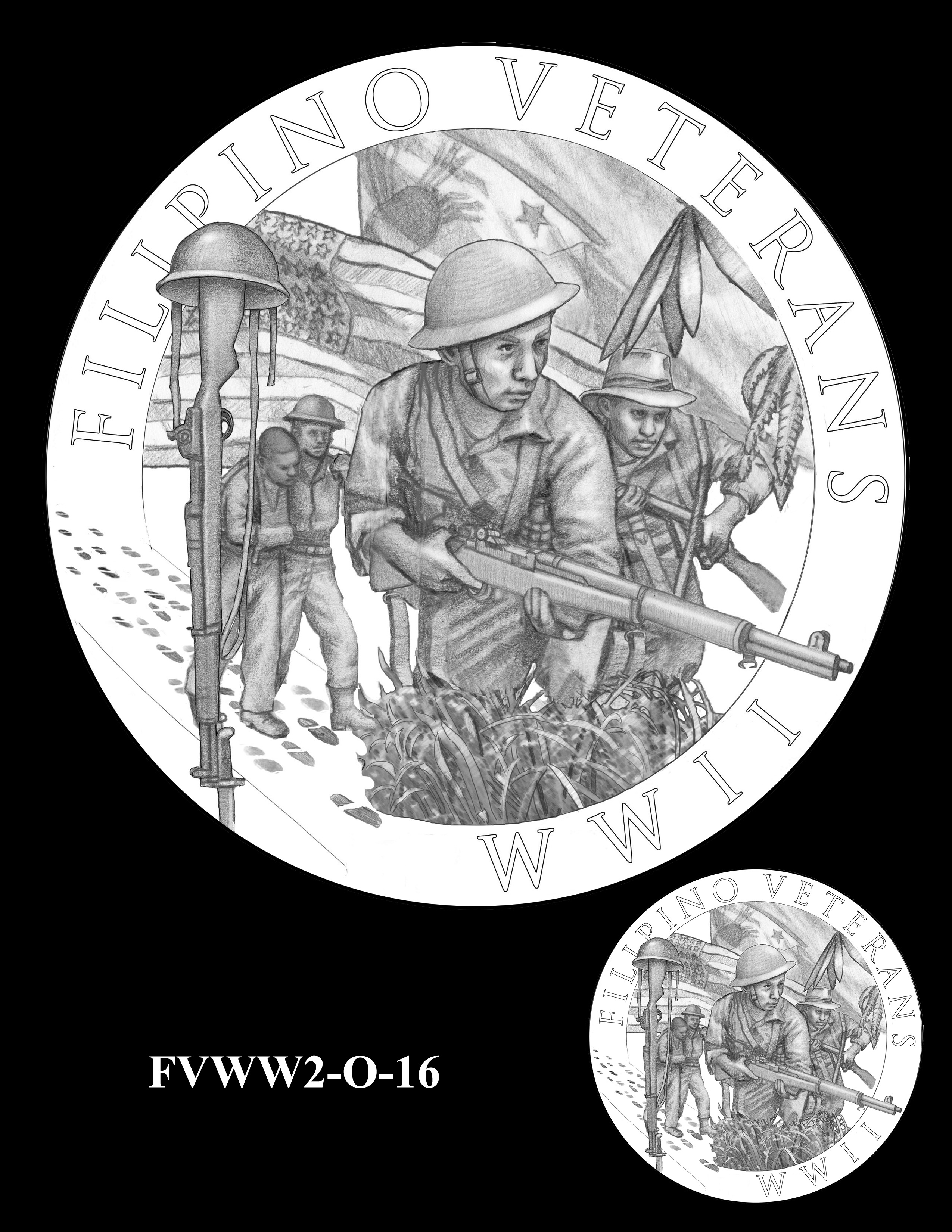 FVWW2-O-16 -- Filipino Veterans of World War II Congressional Gold Medal