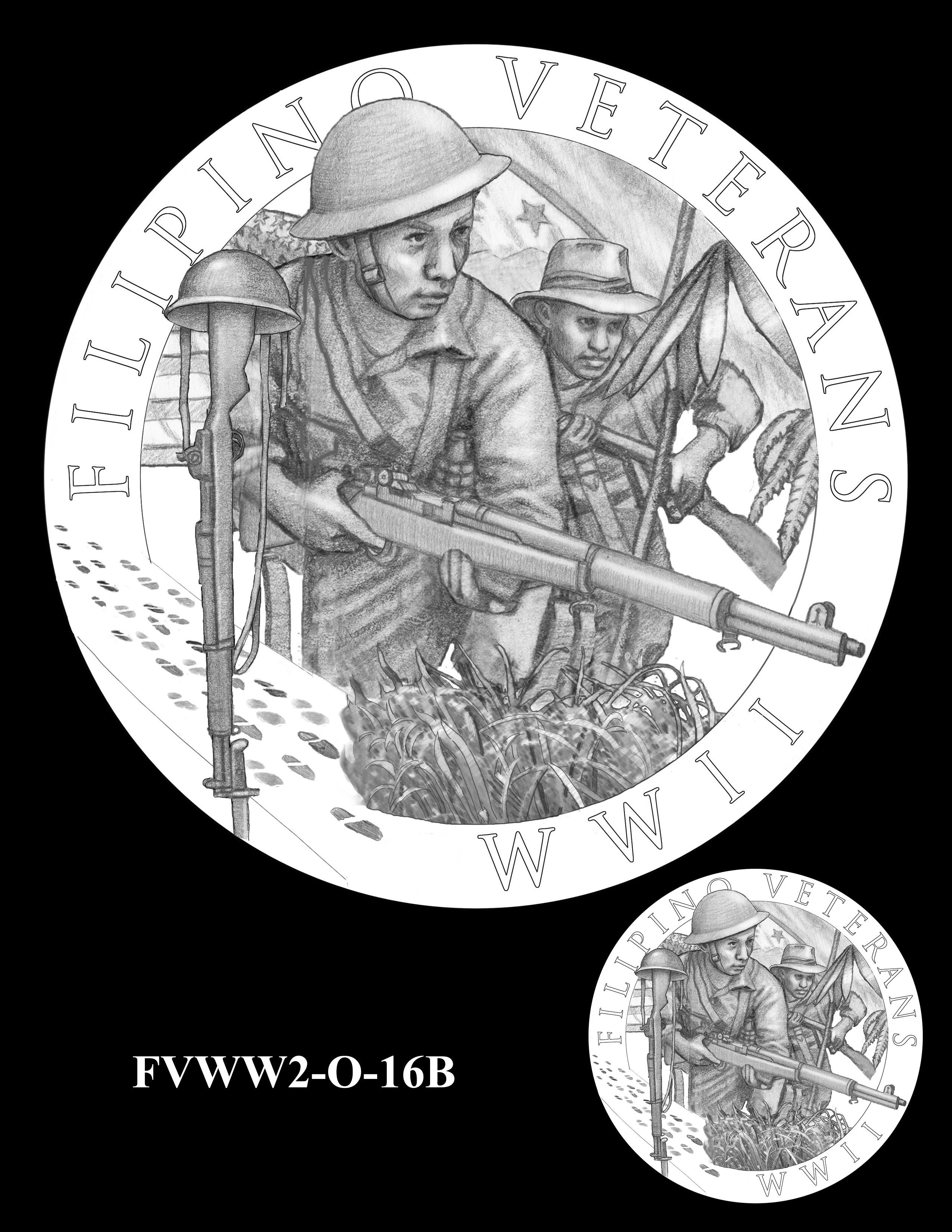FVWW2-O-16B -- Filipino Veterans of World War II Congressional Gold Medal
