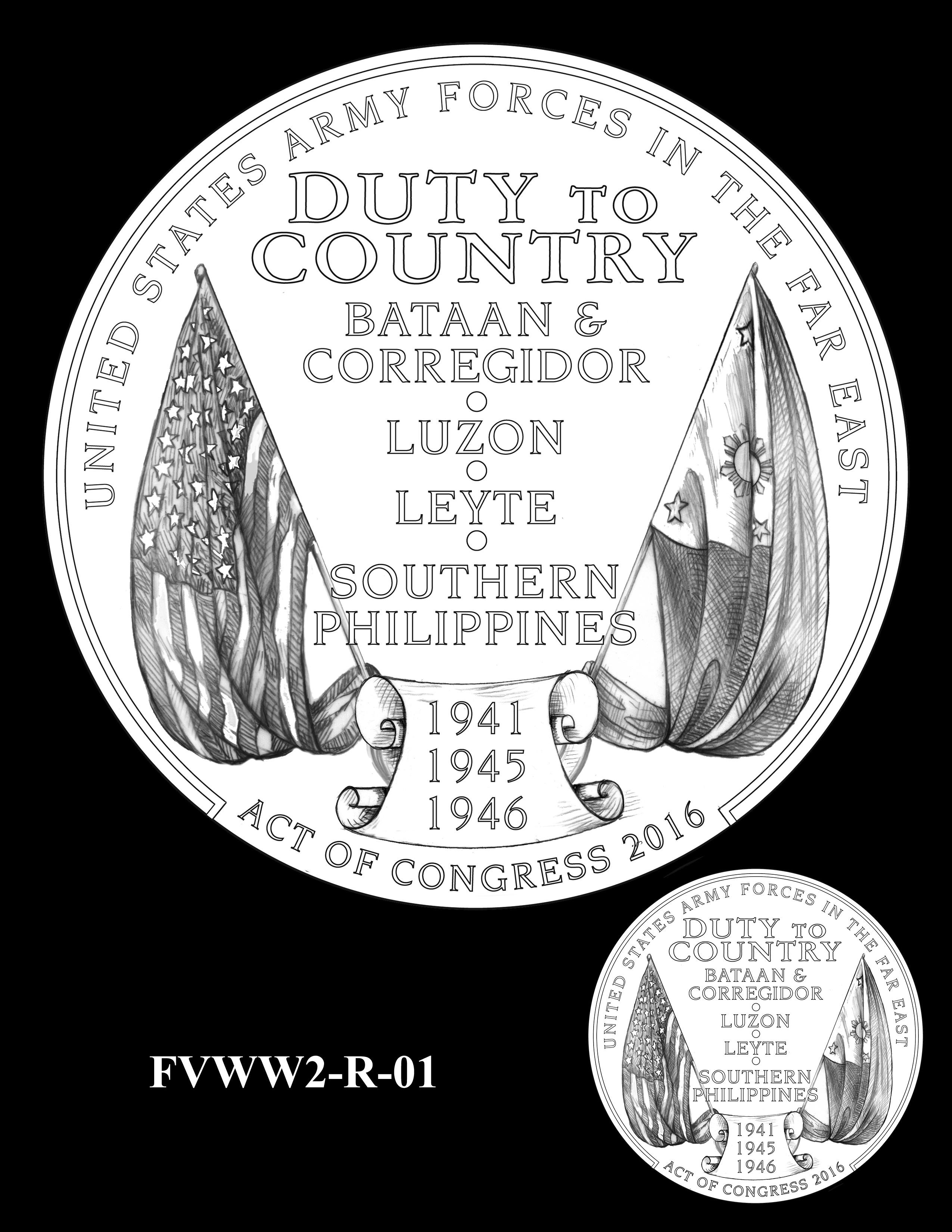 FVWW2-R-01 -- Filipino Veterans of World War II Congressional Gold Medal