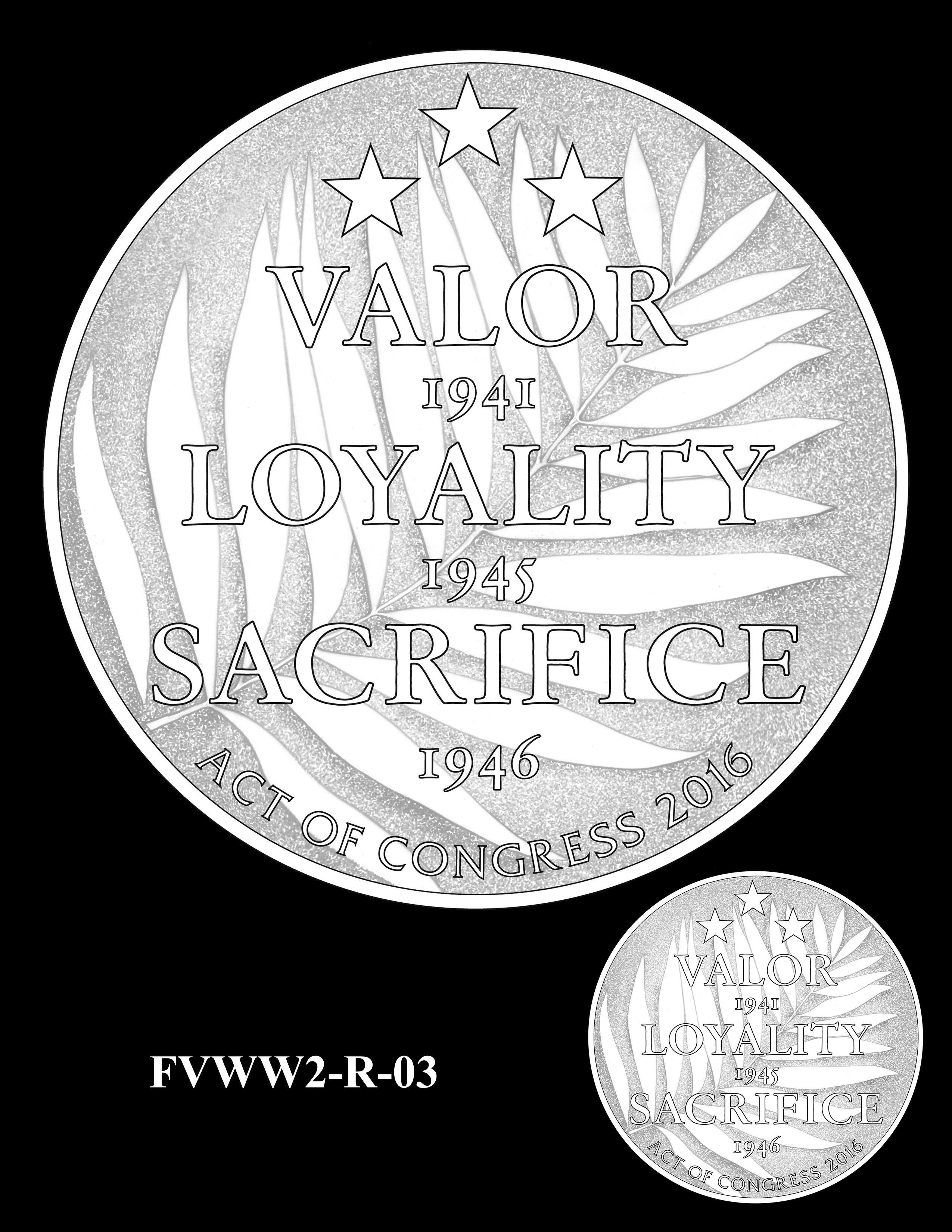 FVWW2-R-03 -- Filipino Veterans of World War II Congressional Gold Medal