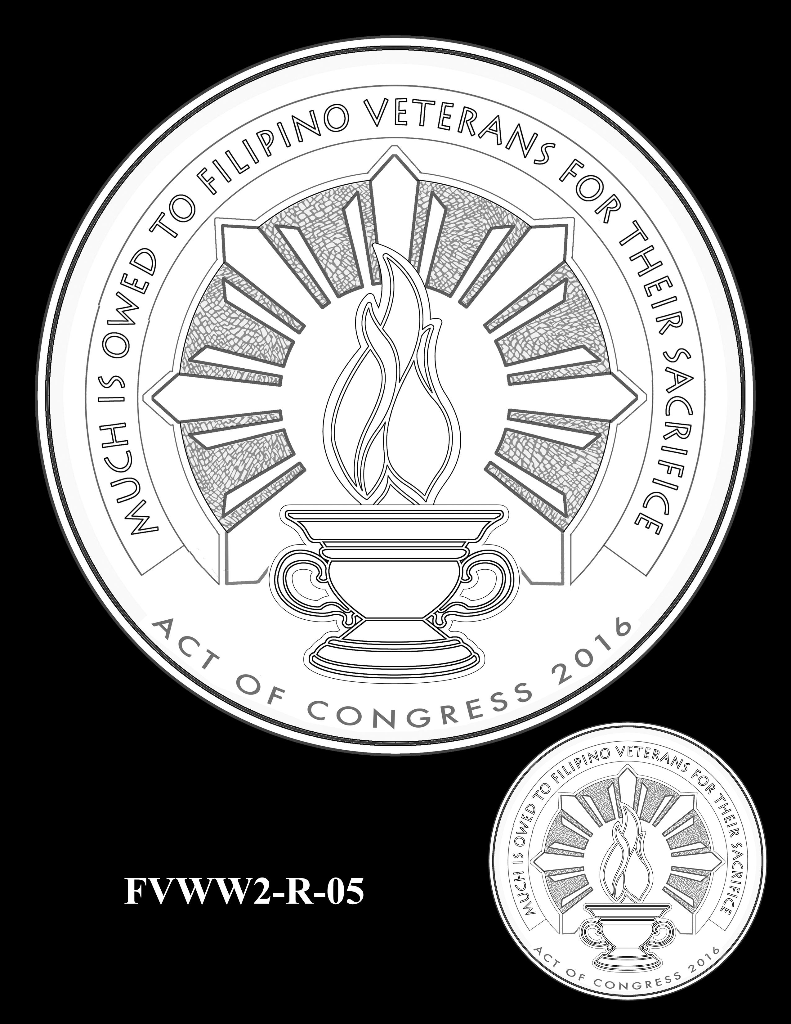 FVWW2-R-05 -- Filipino Veterans of World War II Congressional Gold Medal