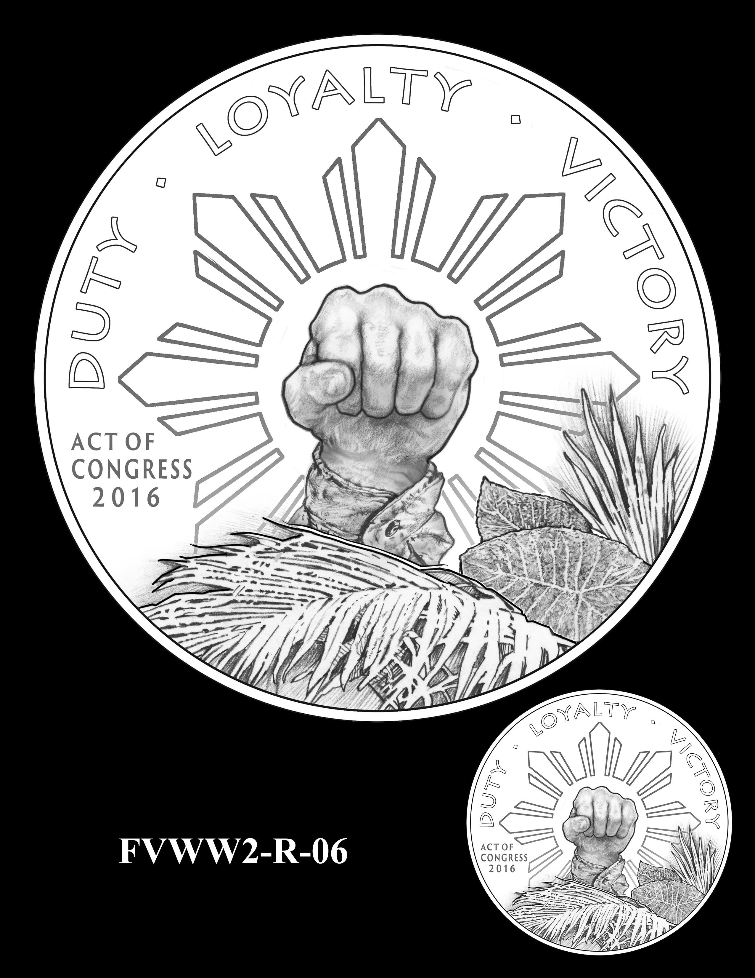 FVWW2-R-06 -- Filipino Veterans of World War II Congressional Gold Medal
