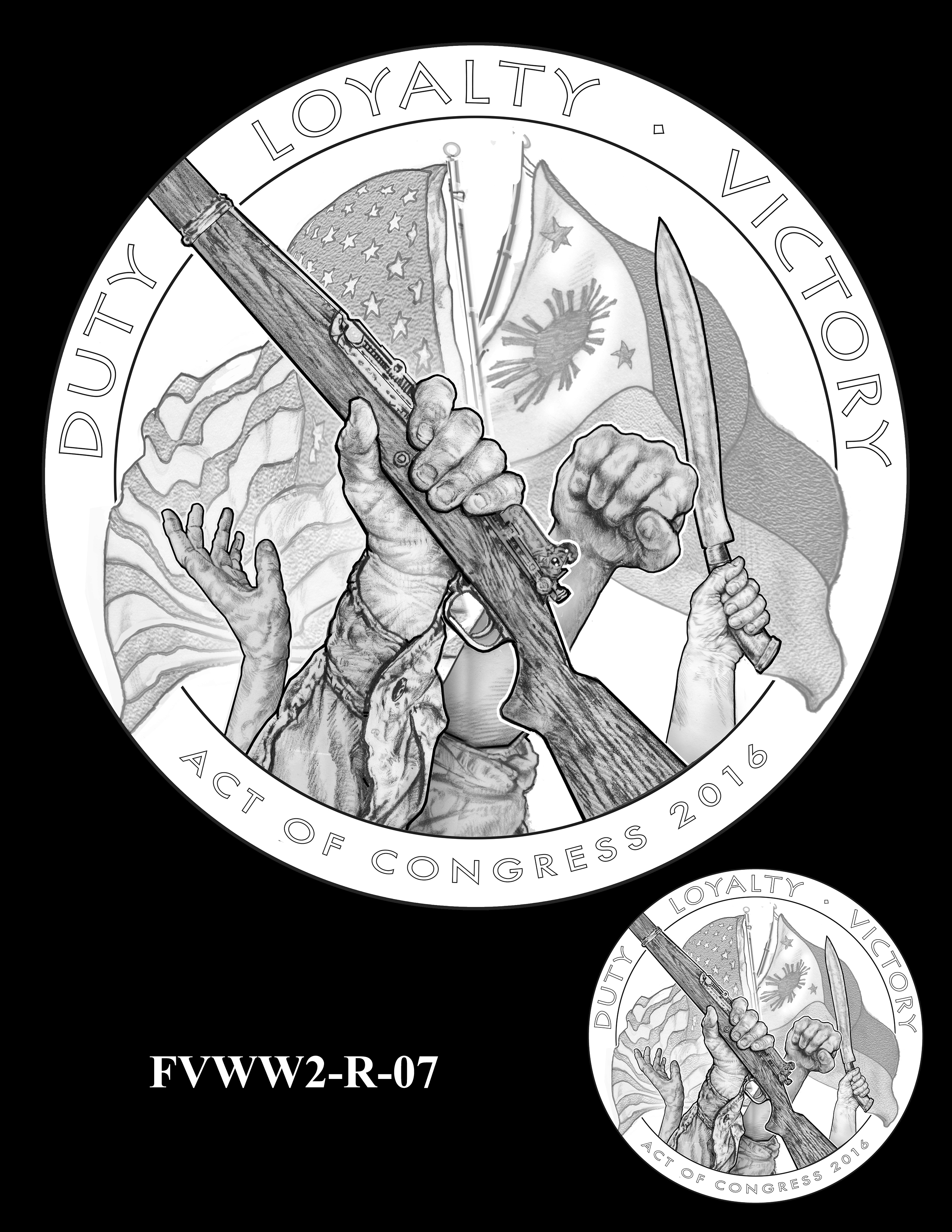 FVWW2-R-07 -- Filipino Veterans of World War II Congressional Gold Medal