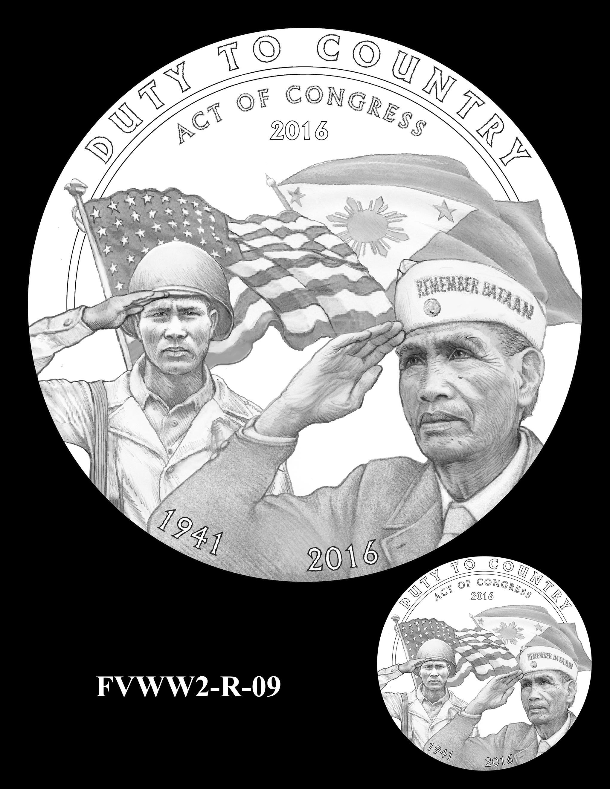 FVWW2-R-09 -- Filipino Veterans of World War II Congressional Gold Medal