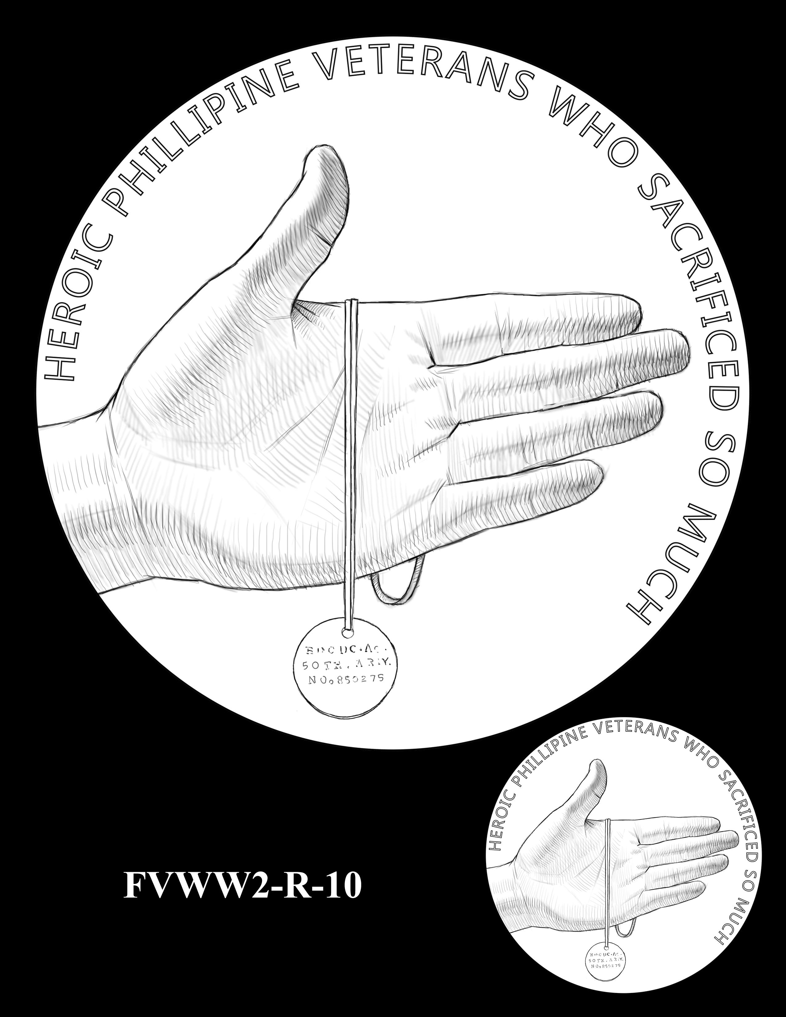 FVWW2-R-10 -- Filipino Veterans of World War II Congressional Gold Medal