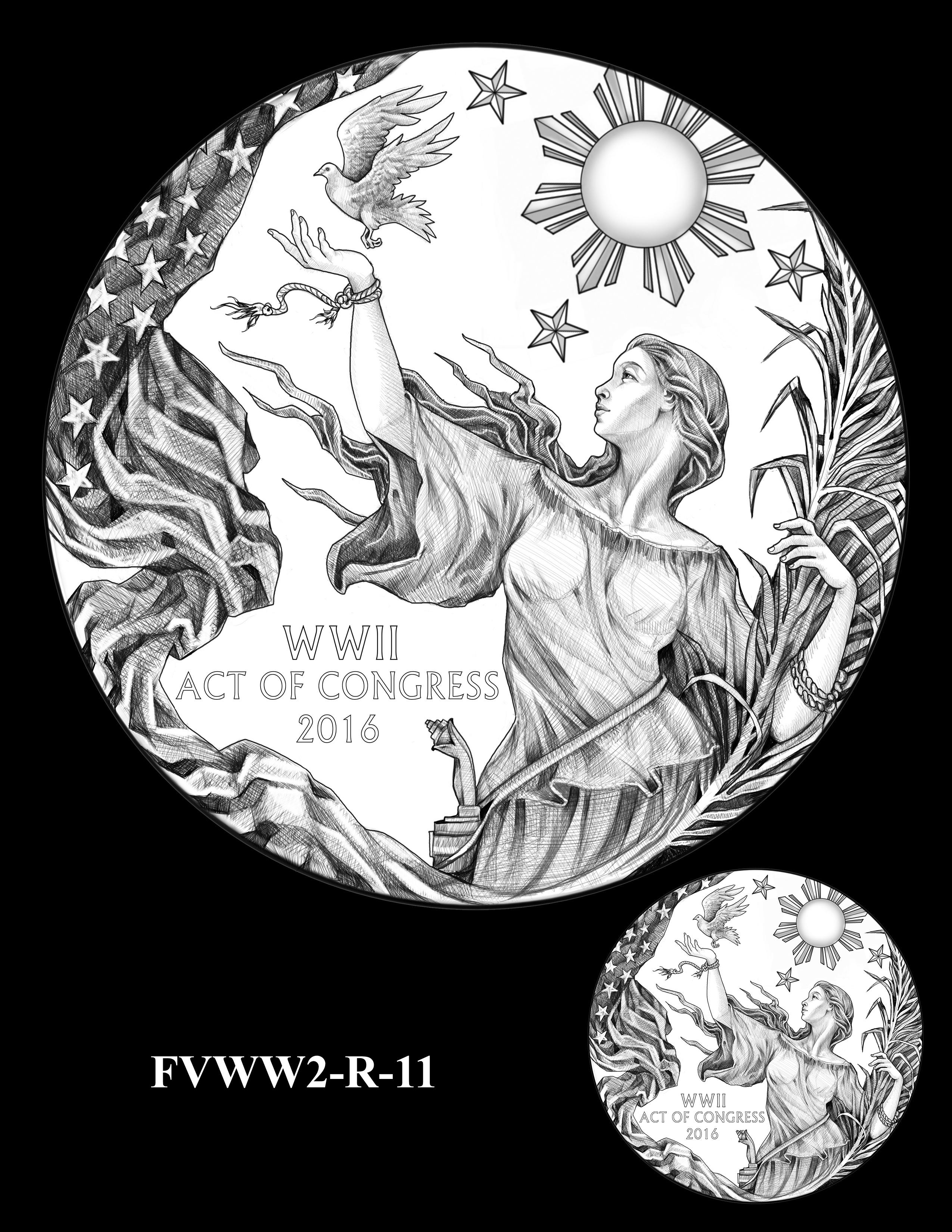 FVWW2-R-11 -- Filipino Veterans of World War II Congressional Gold Medal