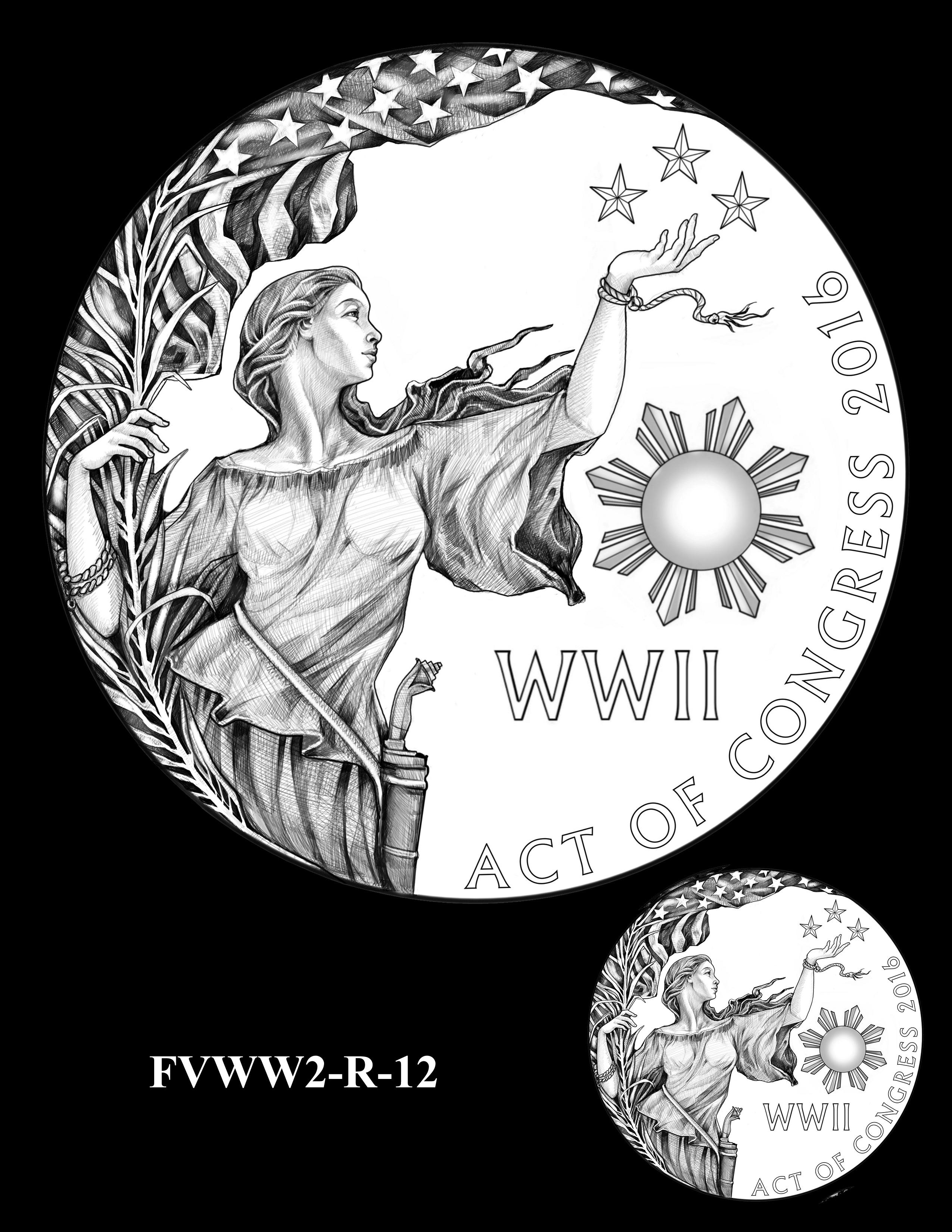 FVWW2-R-12 -- Filipino Veterans of World War II Congressional Gold Medal