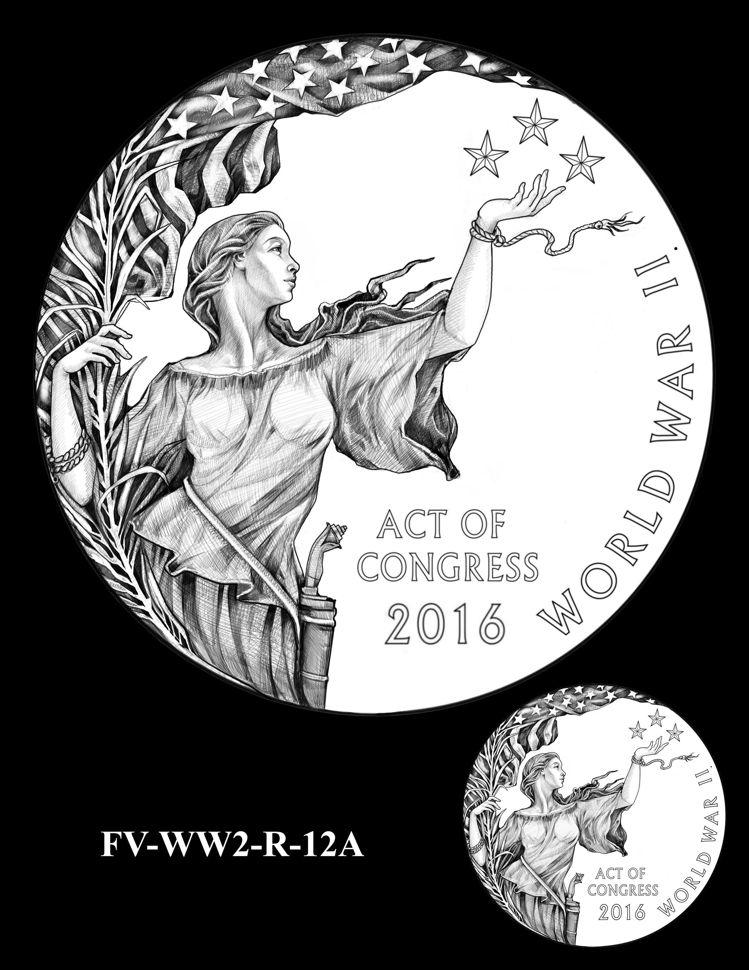 FVWW2-R-12A -- Filipino Veterans of World War II Congressional Gold Medal