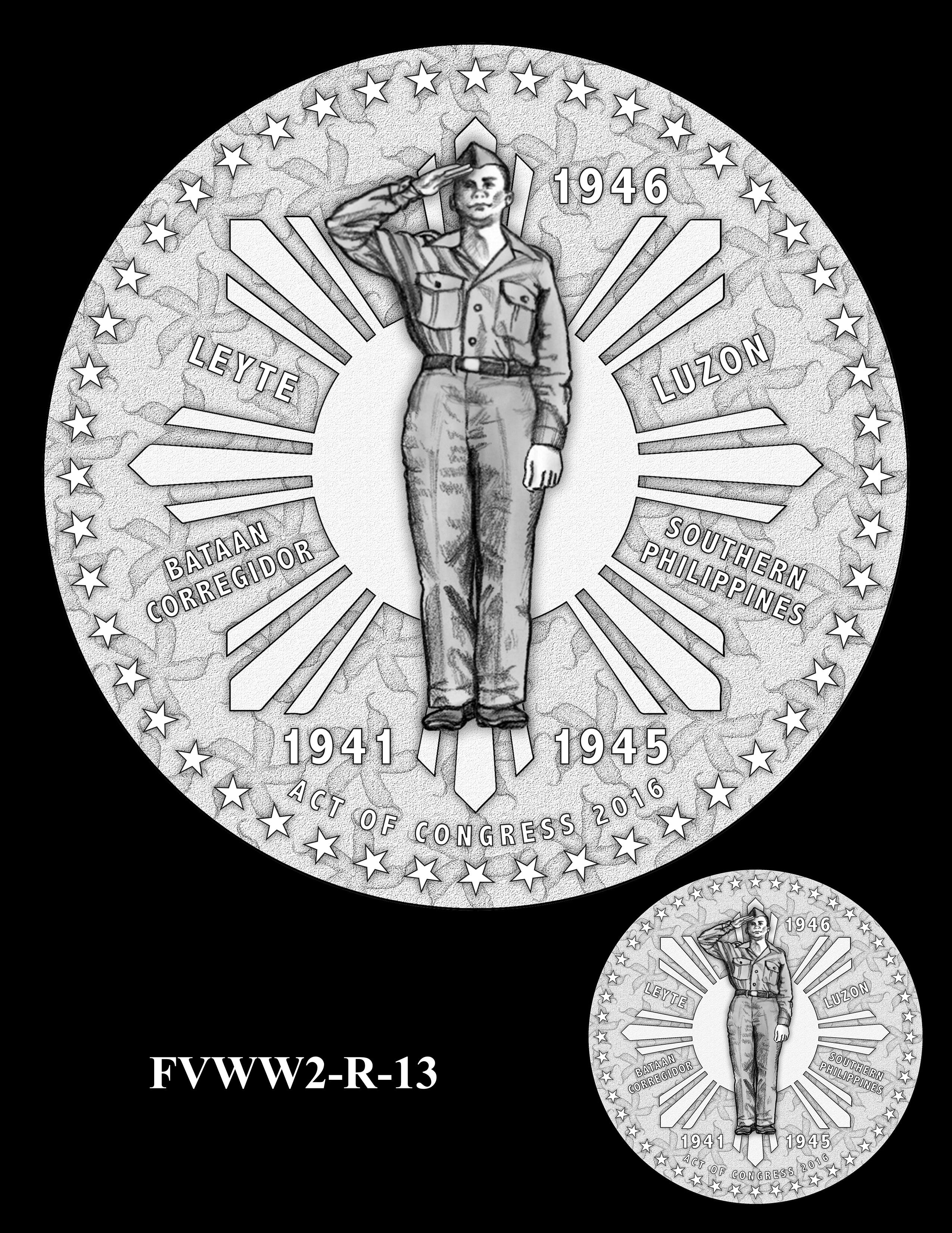 FVWW2-R-13 -- Filipino Veterans of World War II Congressional Gold Medal