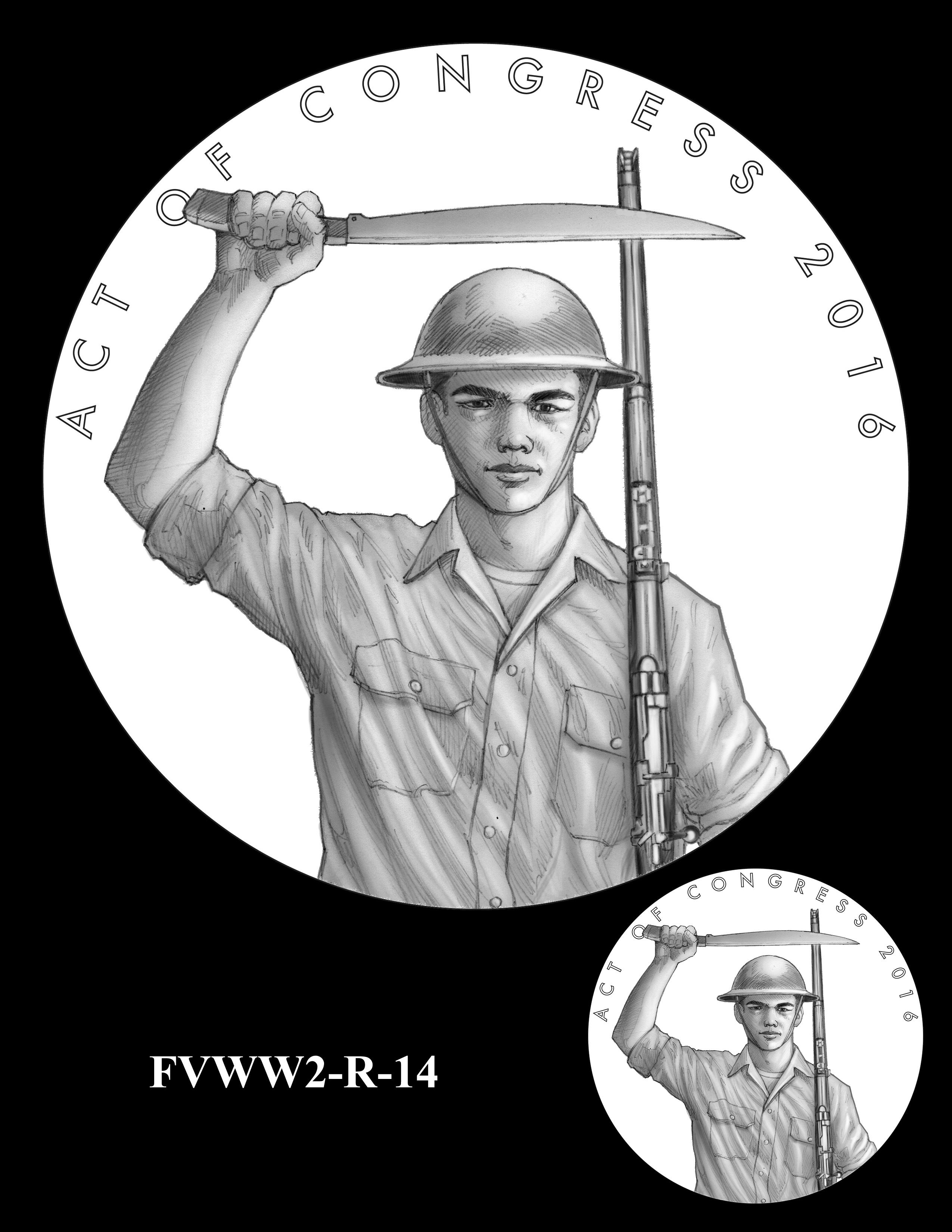 FVWW2-R-14 -- Filipino Veterans of World War II Congressional Gold Medal