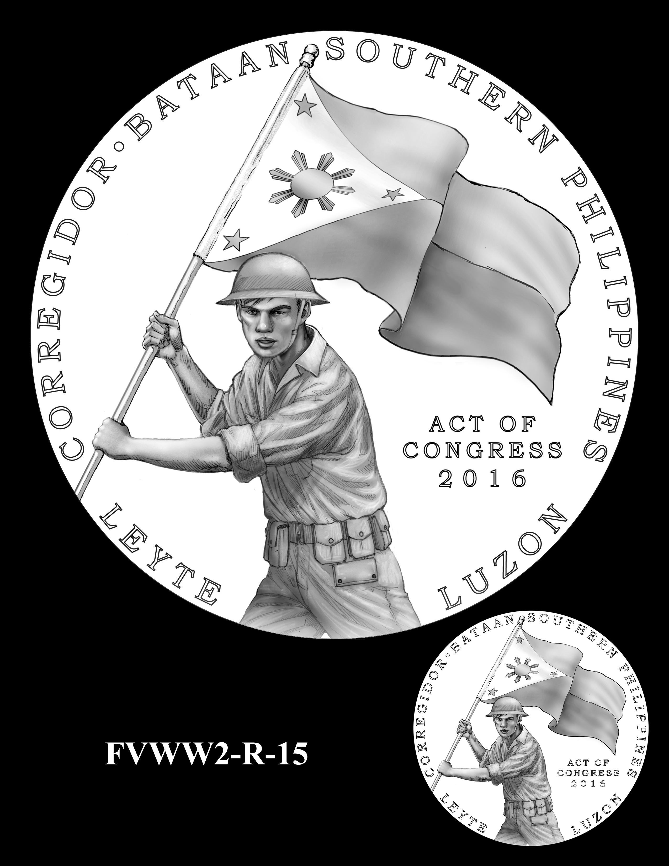 FVWW2-R-15 -- Filipino Veterans of World War II Congressional Gold Medal