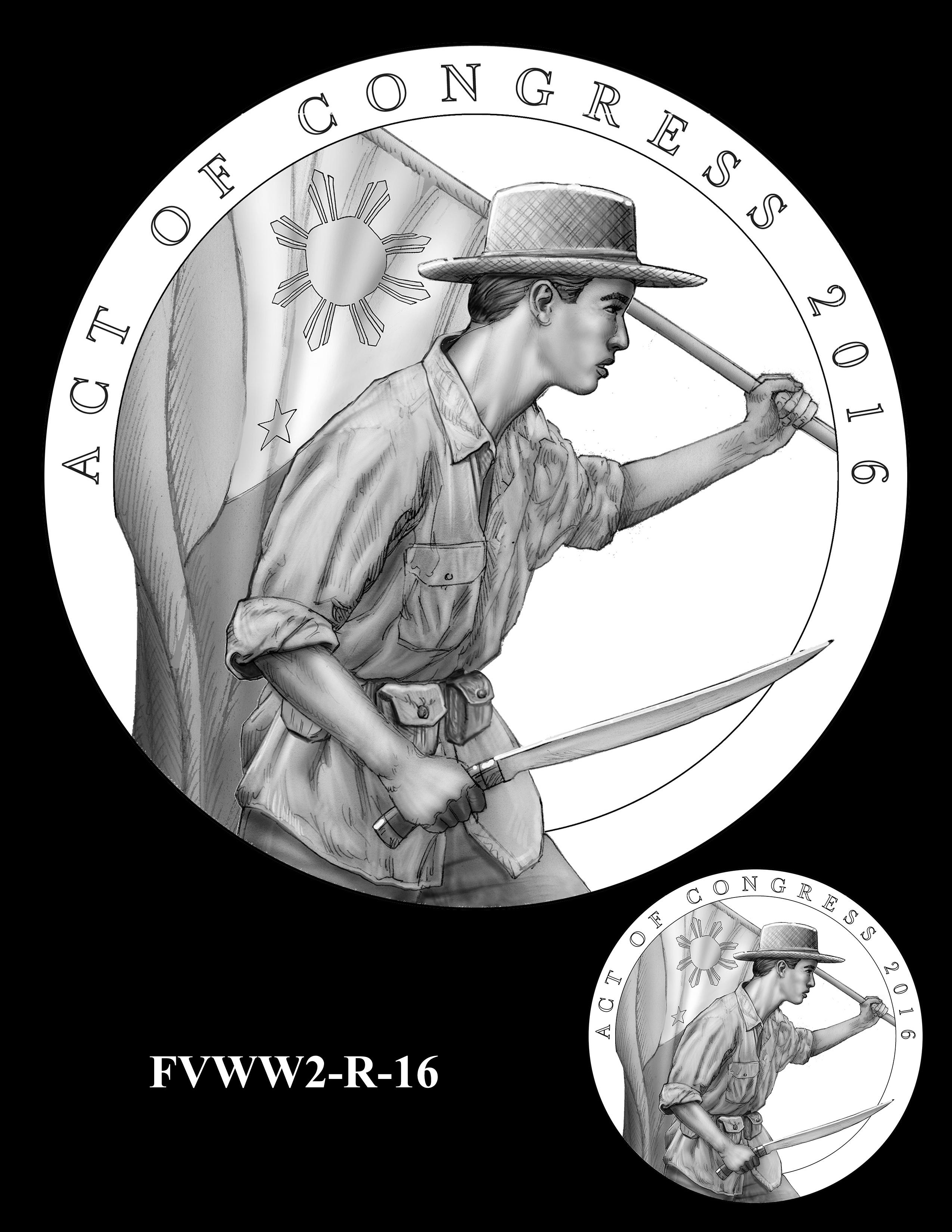 FVWW2-R-16 -- Filipino Veterans of World War II Congressional Gold Medal