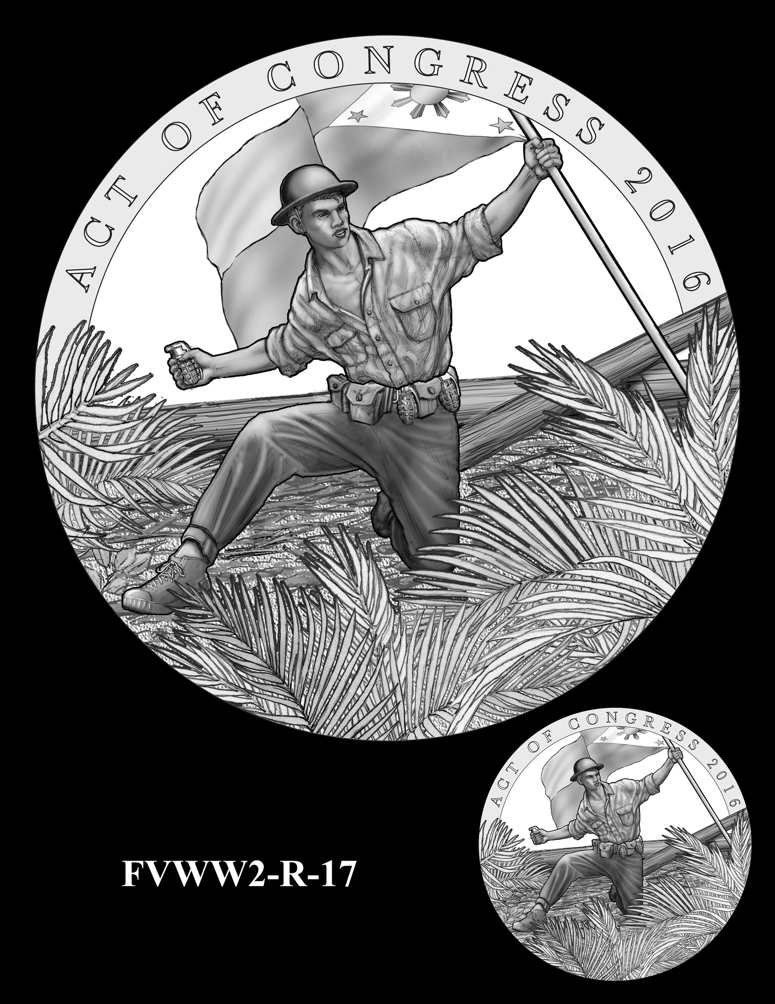 FVWW2-R-17 -- Filipino Veterans of World War II Congressional Gold Medal