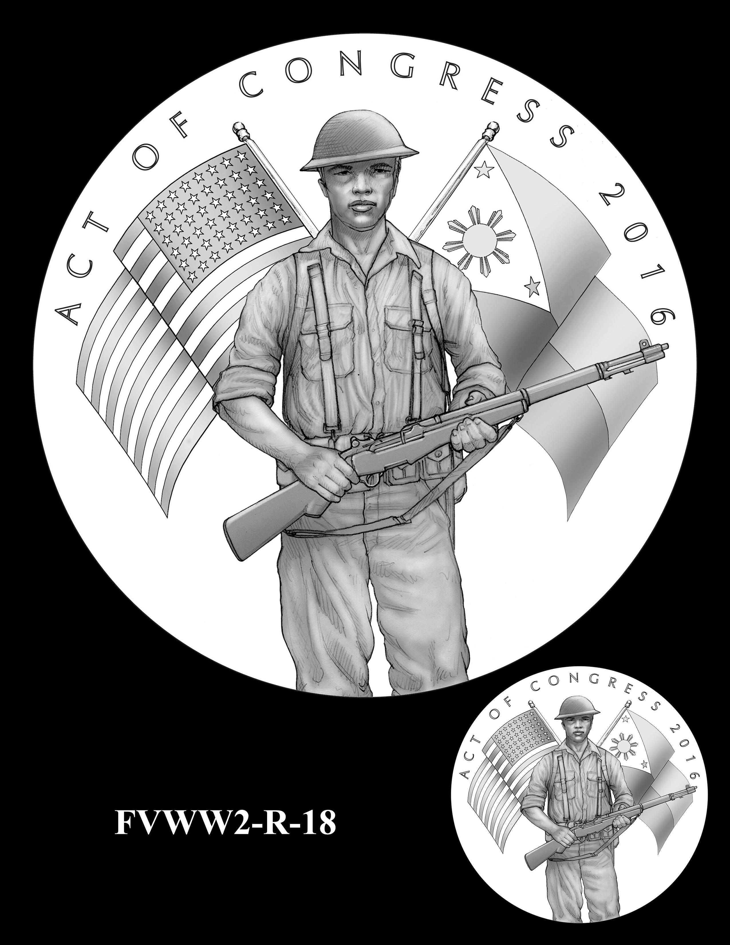 FVWW2-R-18 -- Filipino Veterans of World War II Congressional Gold Medal