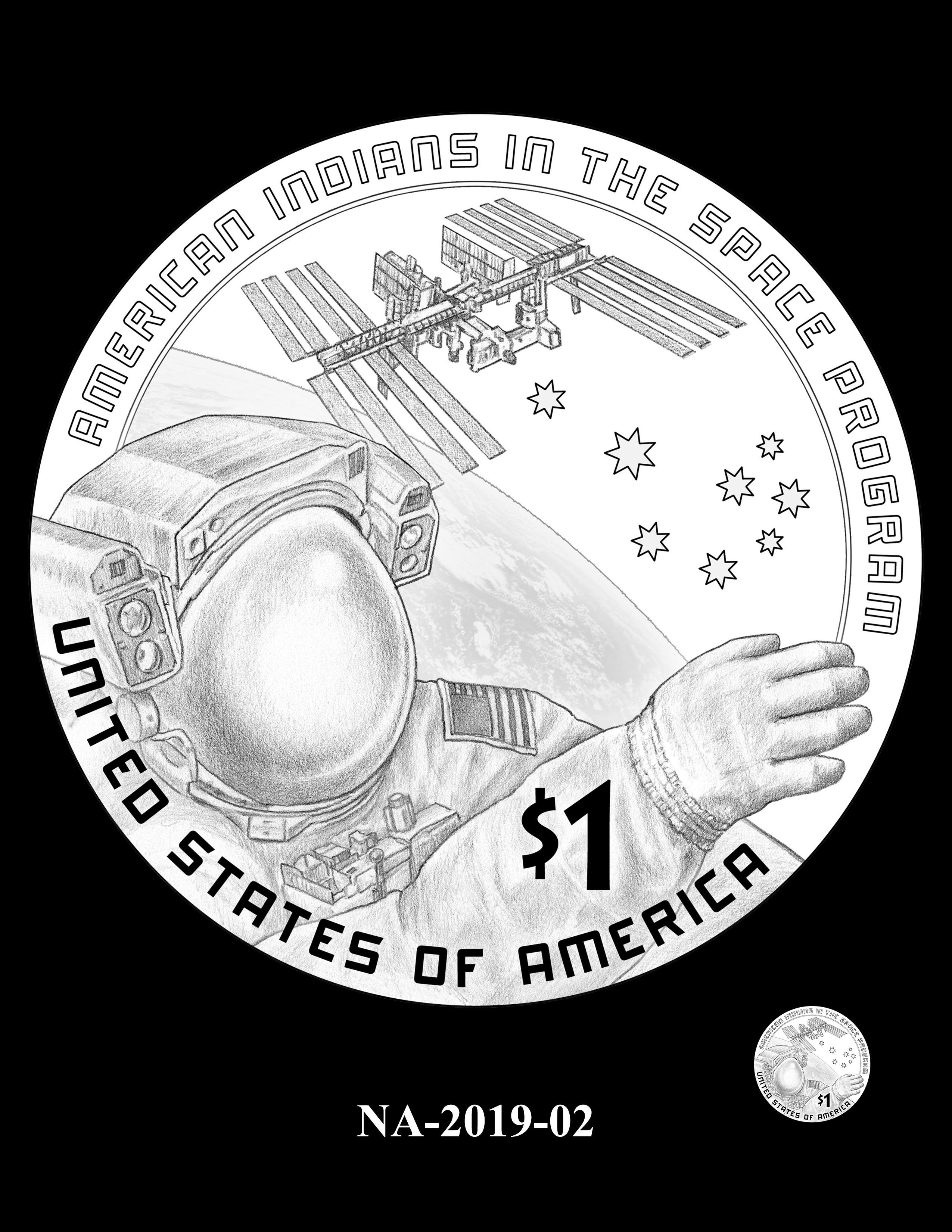 NA-2019-02 --2019 Native American $1 Coin