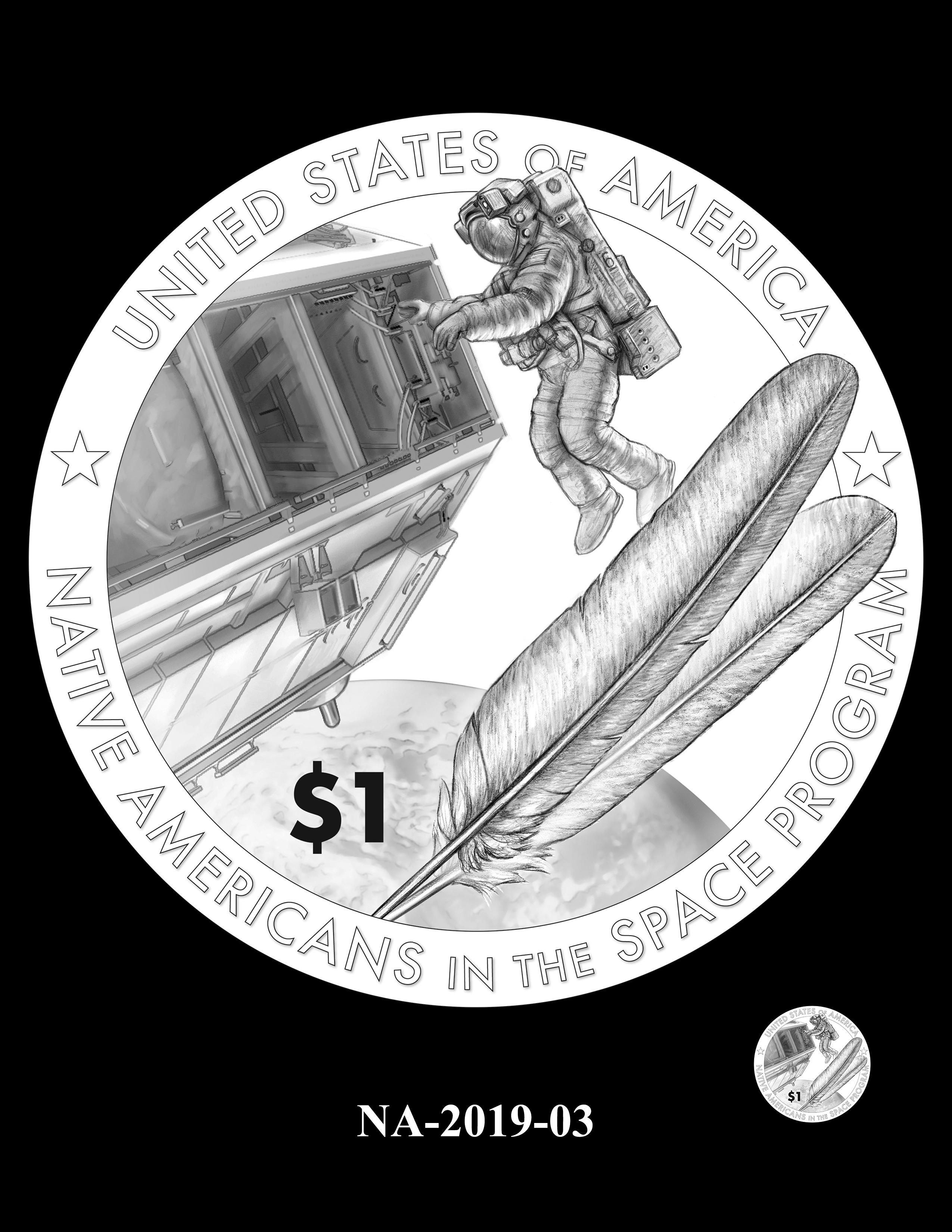 NA-2019-03 --2019 Native American $1 Coin