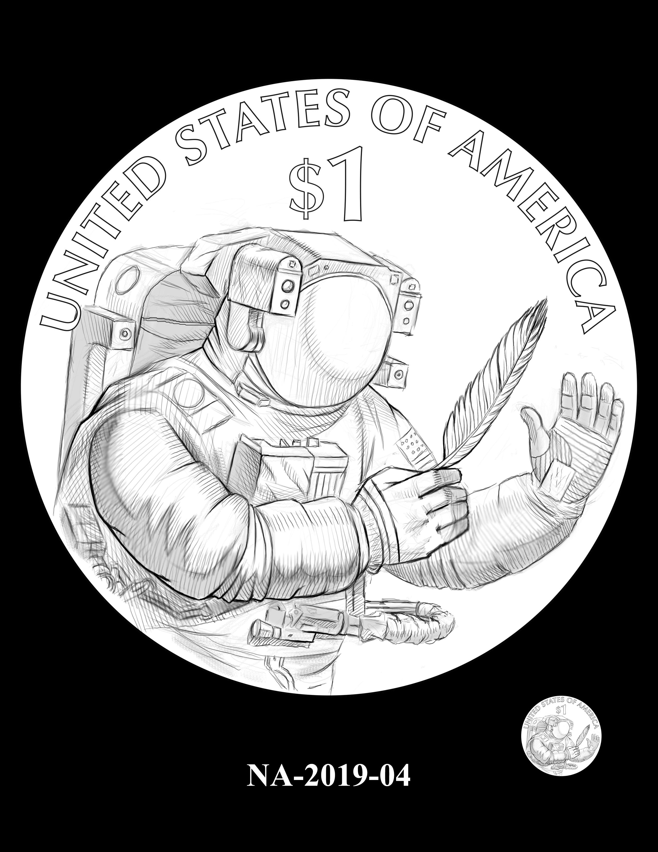 NA-2019-04 --2019 Native American $1 Coin