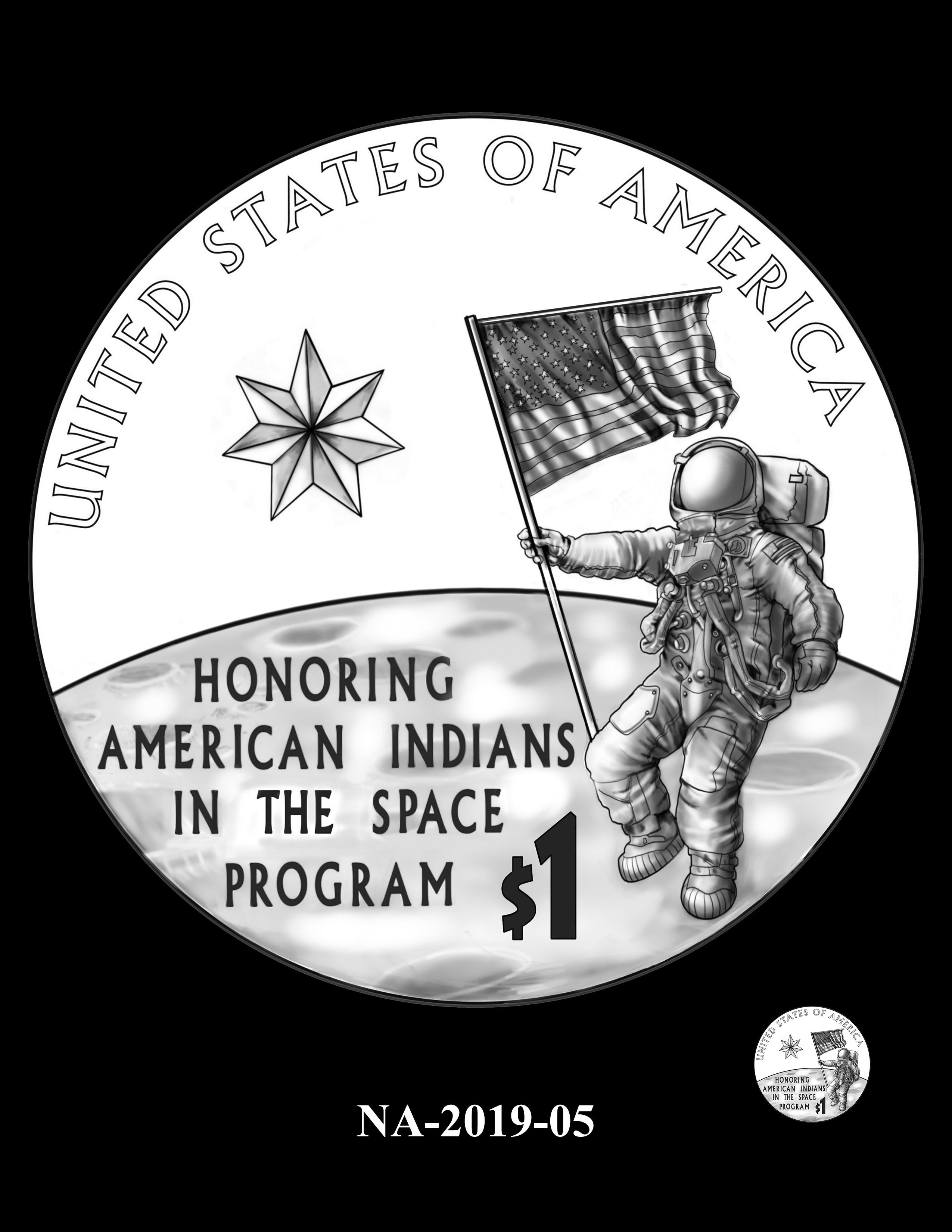 NA-2019-05 --2019 Native American $1 Coin