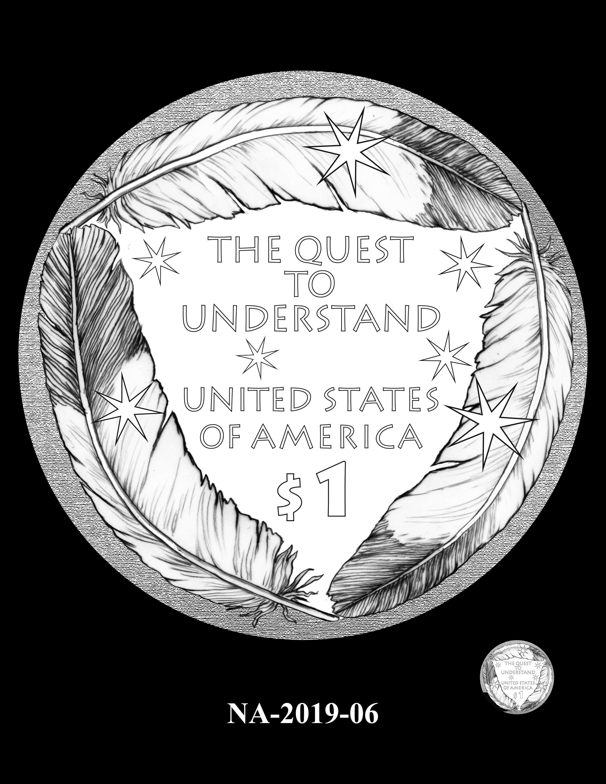 NA-2019-06 --2019 Native American $1 Coin