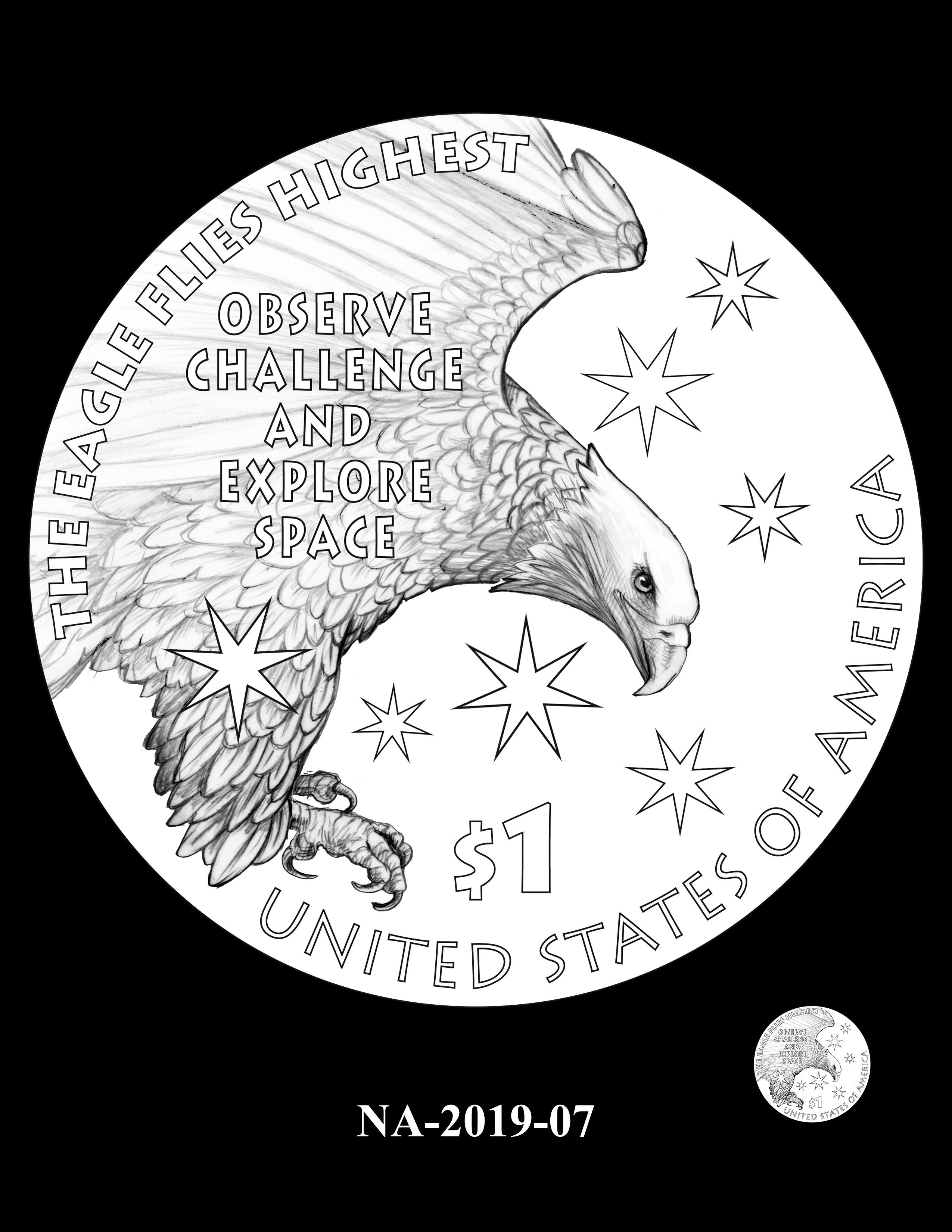 NA-2019-07 --2019 Native American $1 Coin