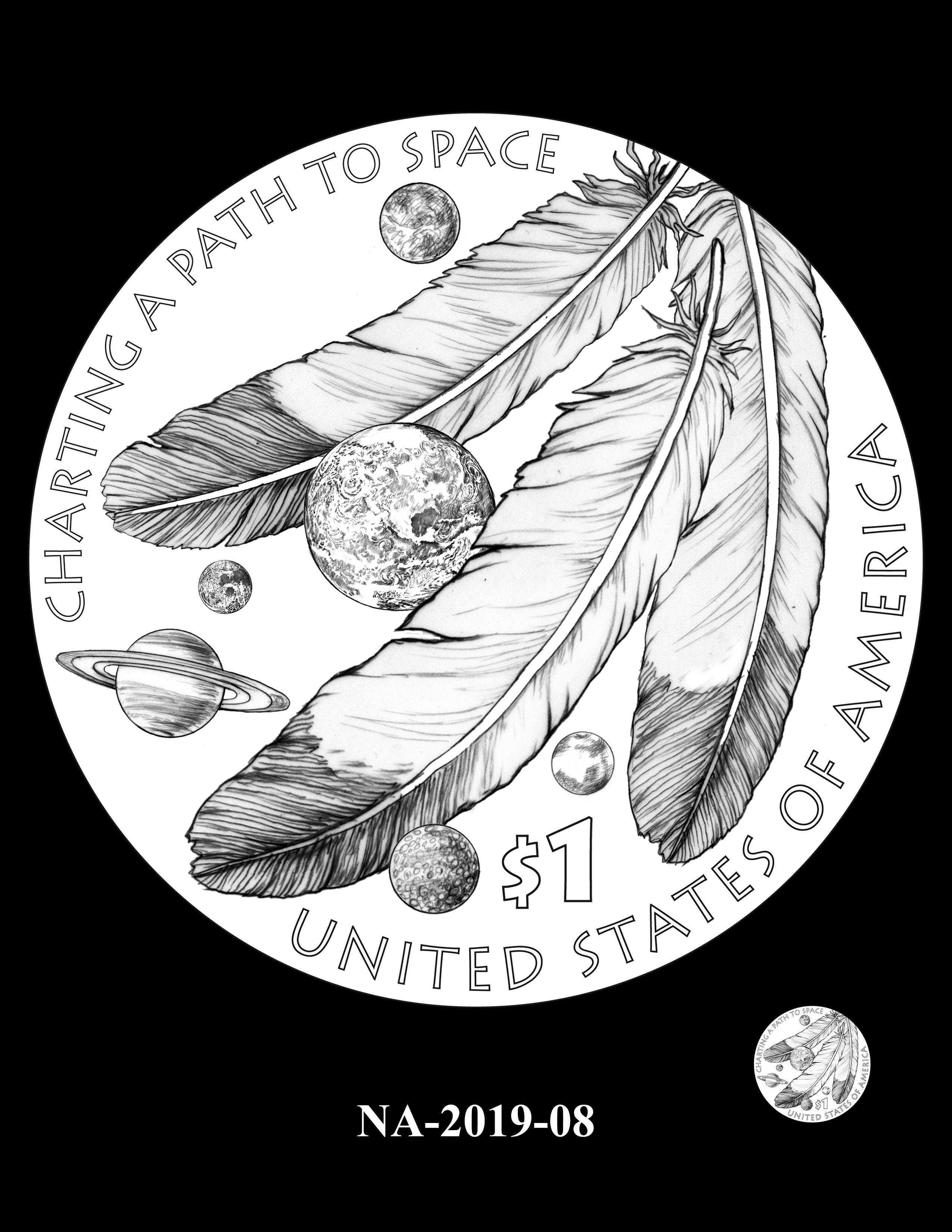 NA-2019-08 --2019 Native American $1 Coin