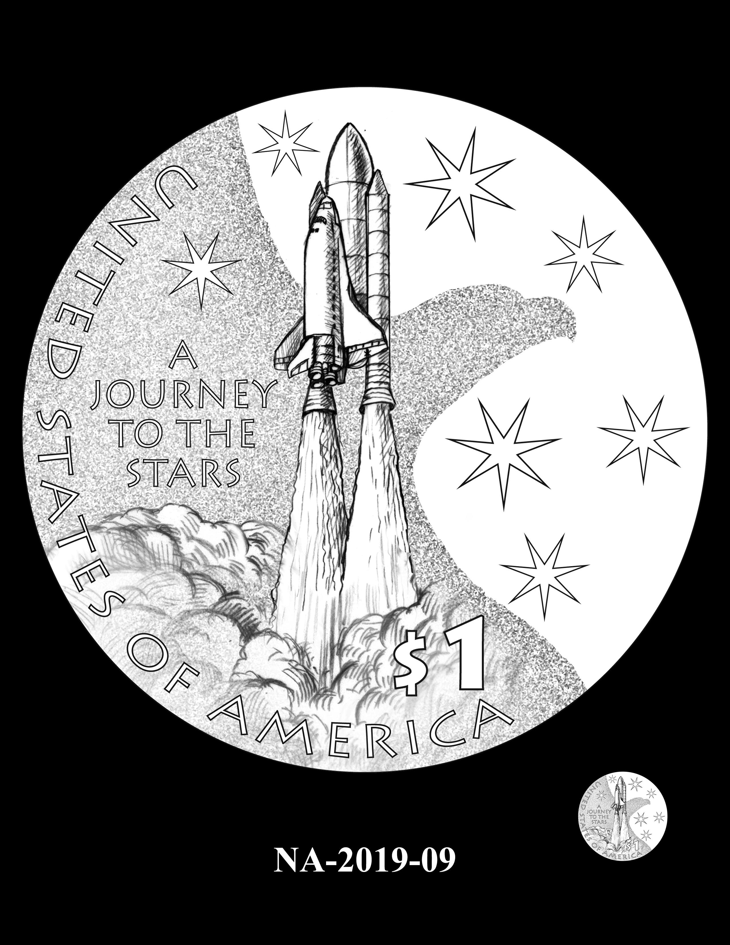 NA-2019-09 --2019 Native American $1 Coin