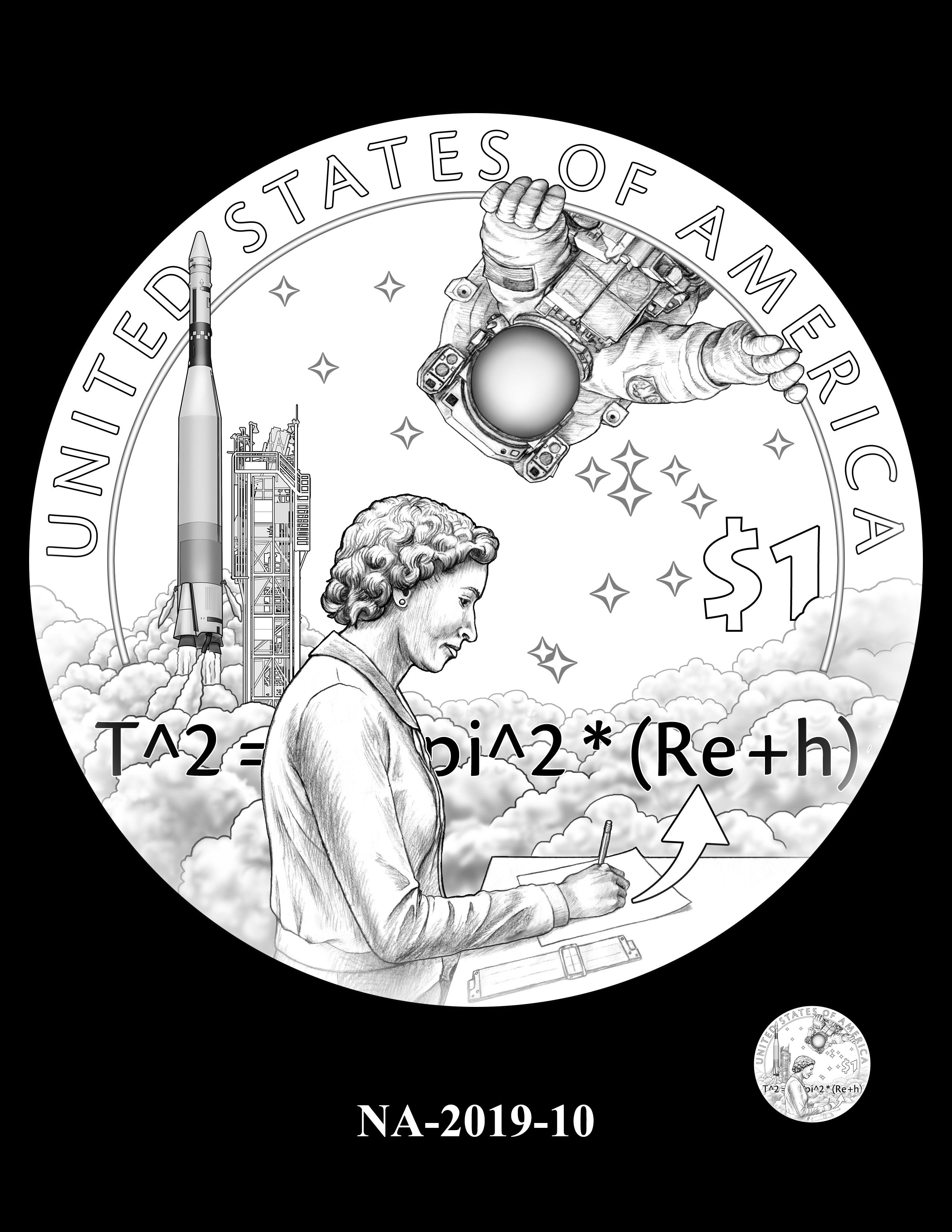 NA-2019-10 --2019 Native American $1 Coin