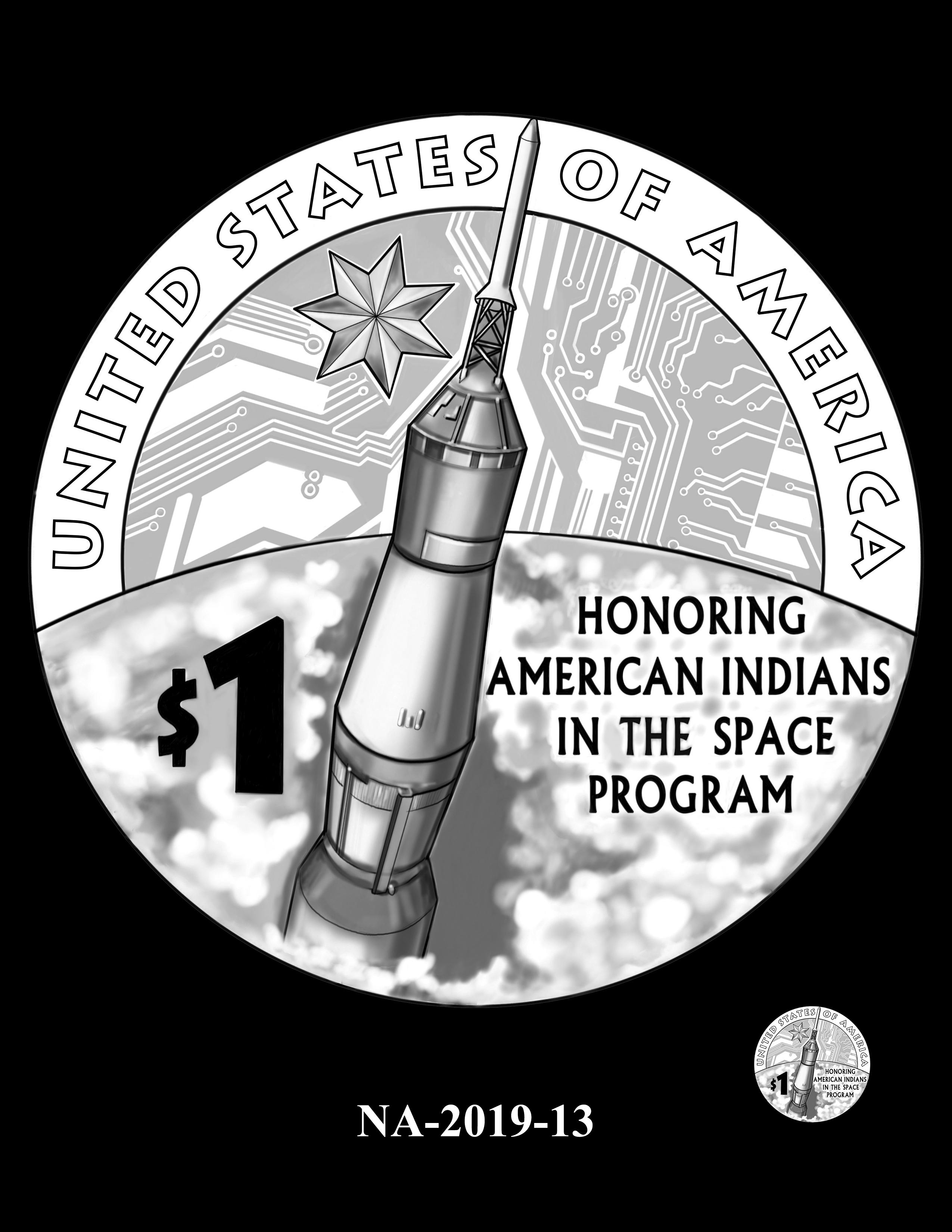 NA-2019-13 --2019 Native American $1 Coin