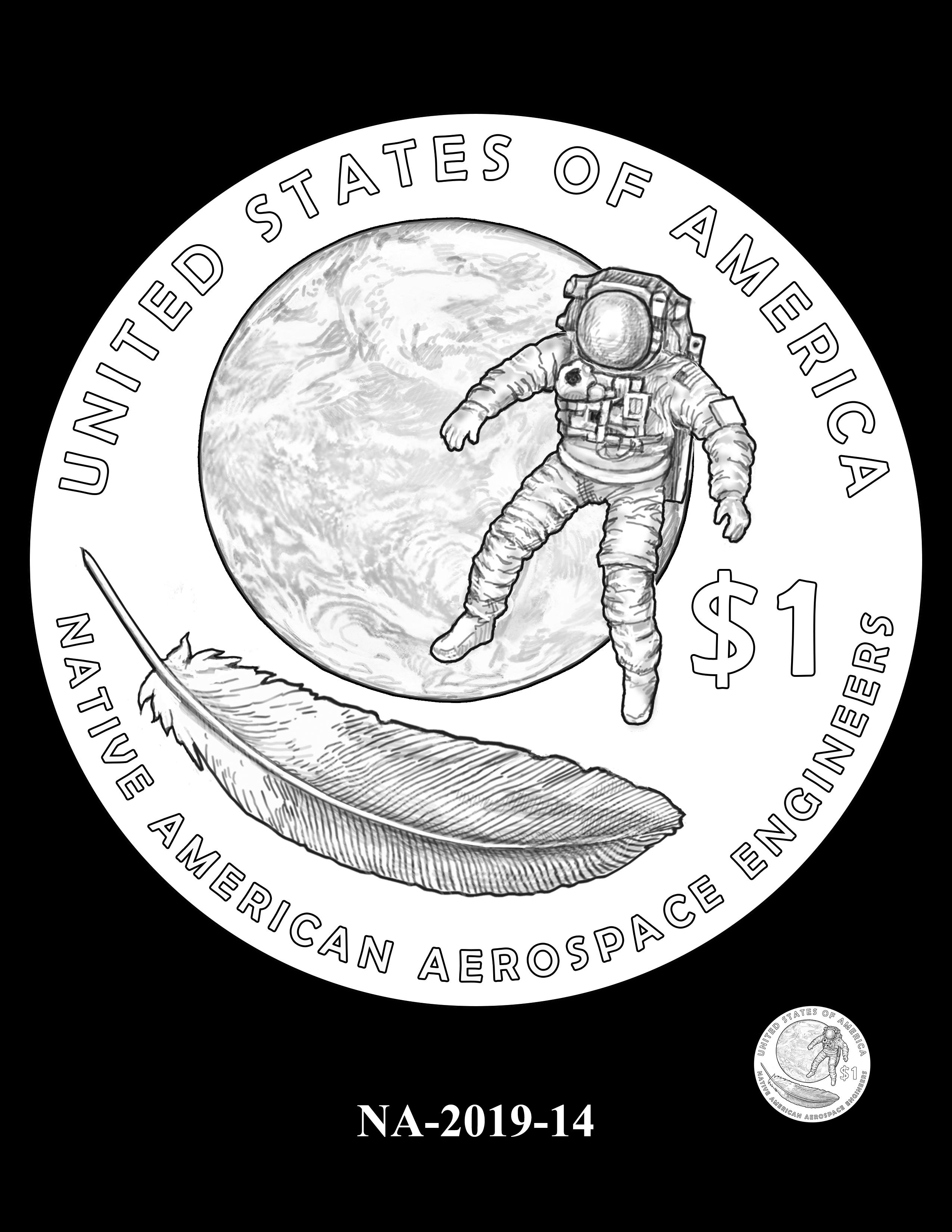 NA-2019-14 --2019 Native American $1 Coin