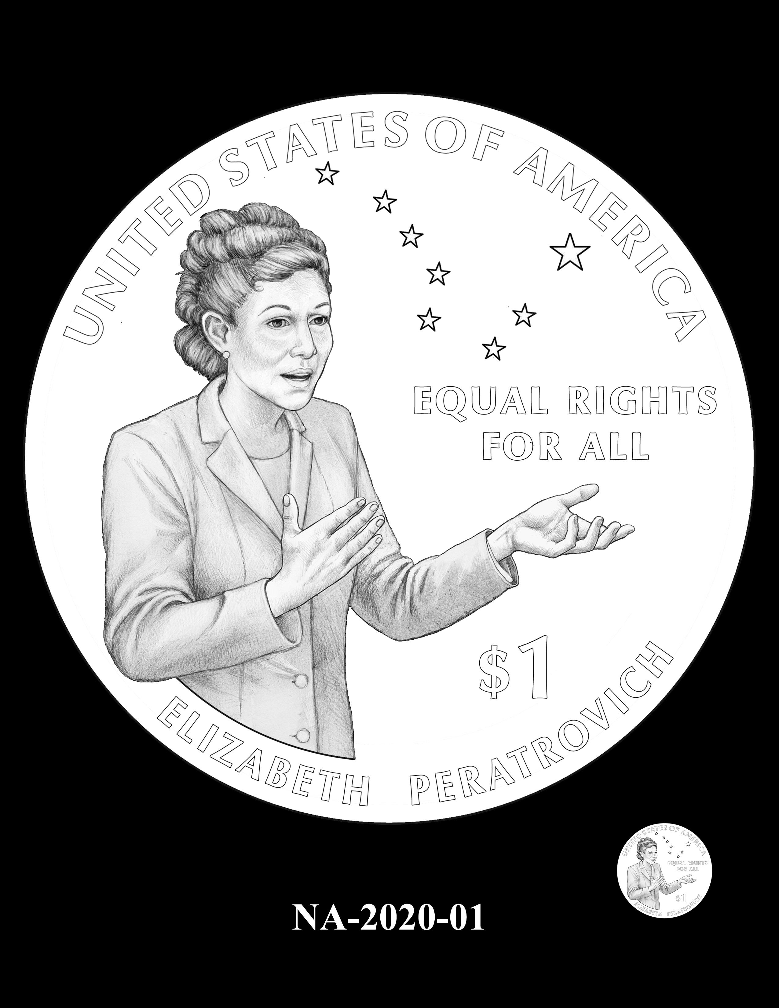 NA-2020-01 --2020 Native American $1 Coin