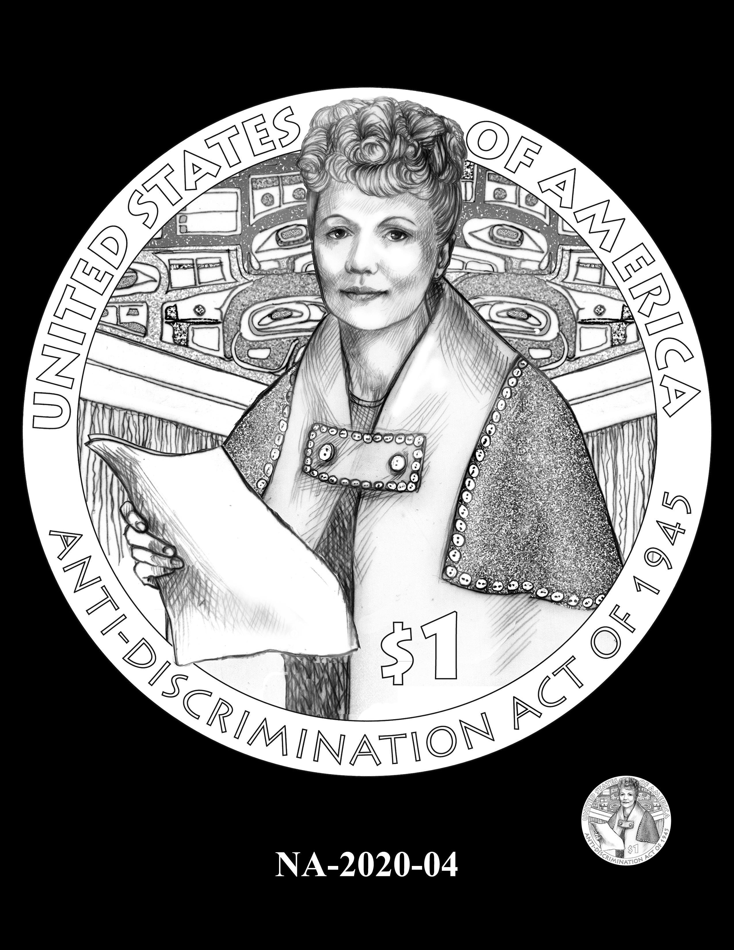 NA-2020-04 --2020 Native American $1 Coin