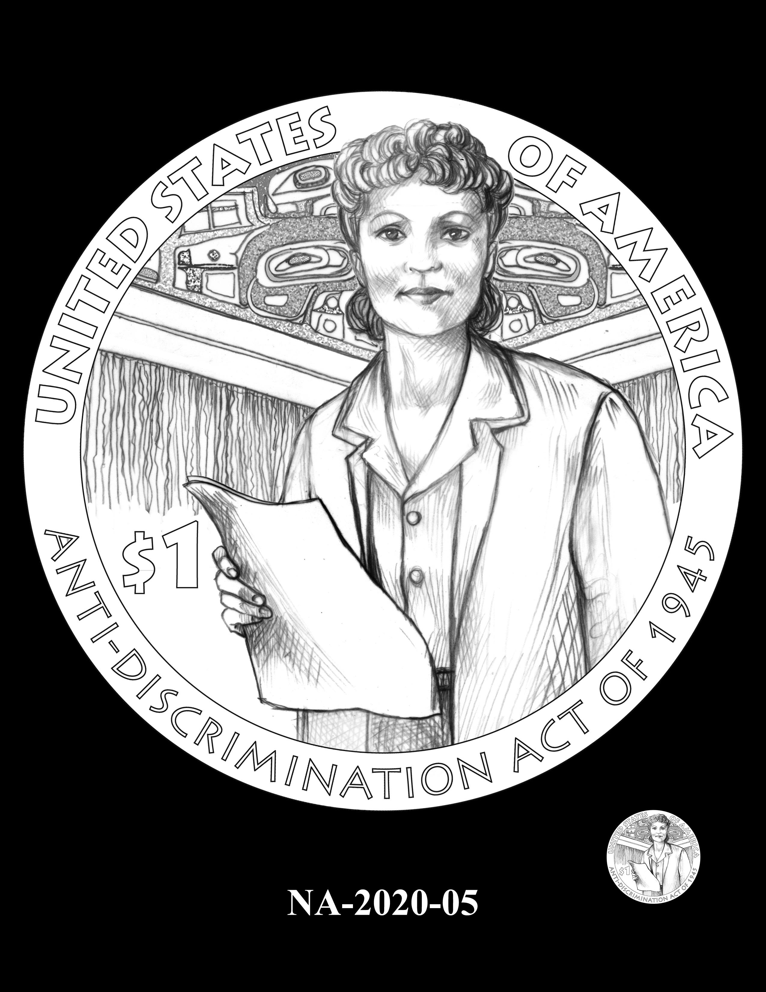 NA-2020-05 --2020 Native American $1 Coin