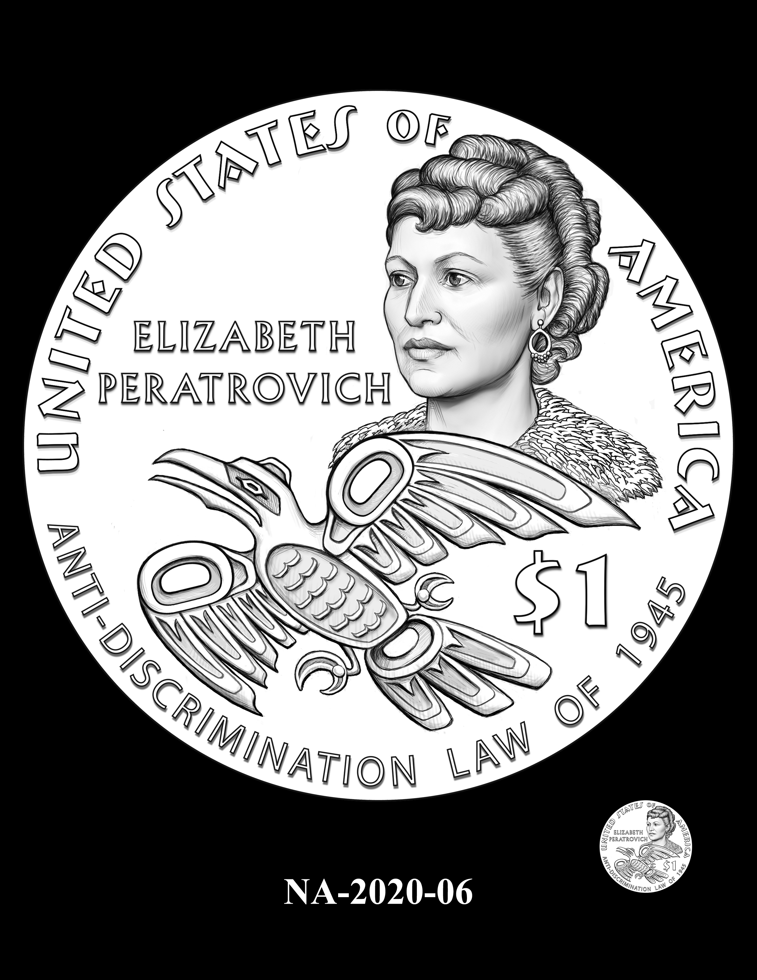 NA-2020-06 --2020 Native American $1 Coin