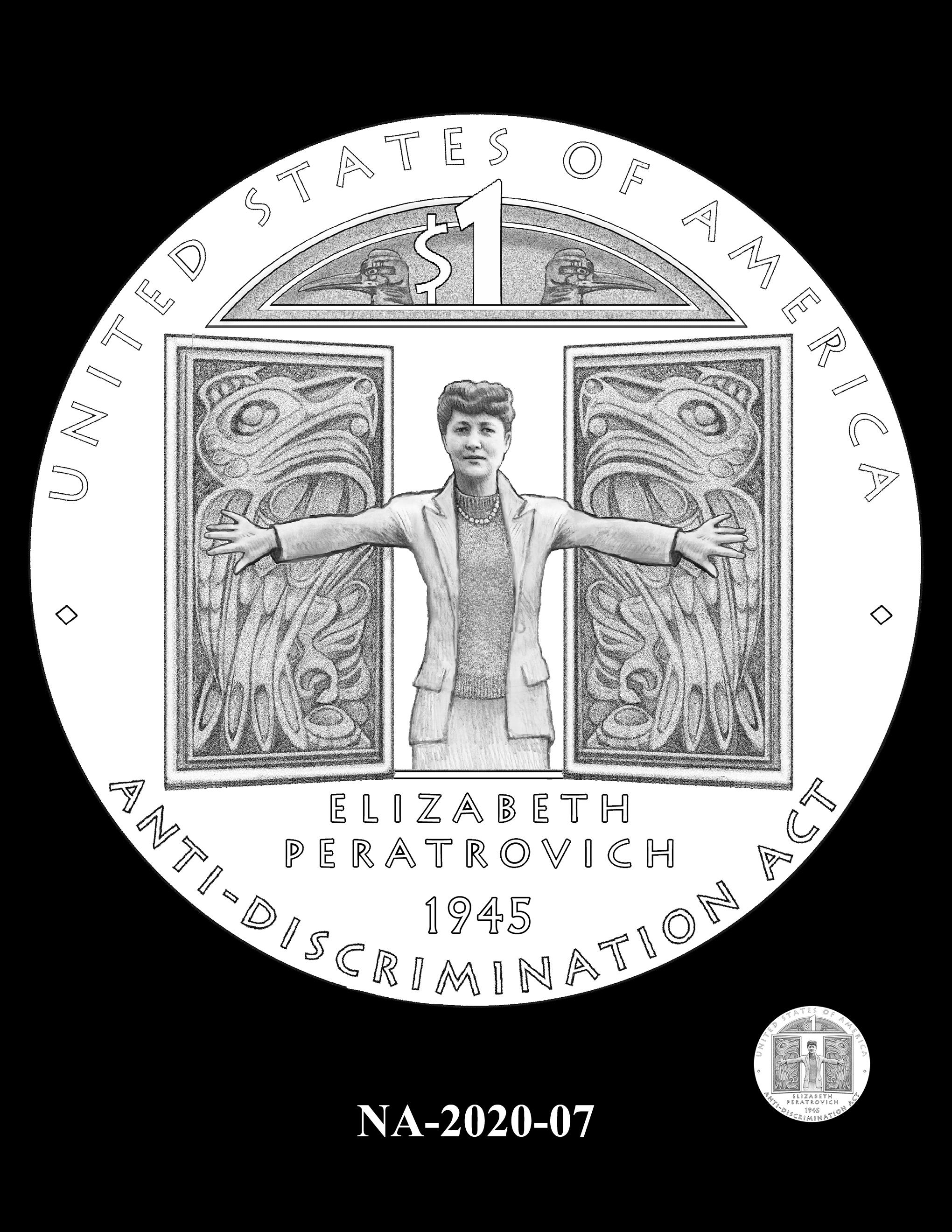 NA-2020-07 --2020 Native American $1 Coin