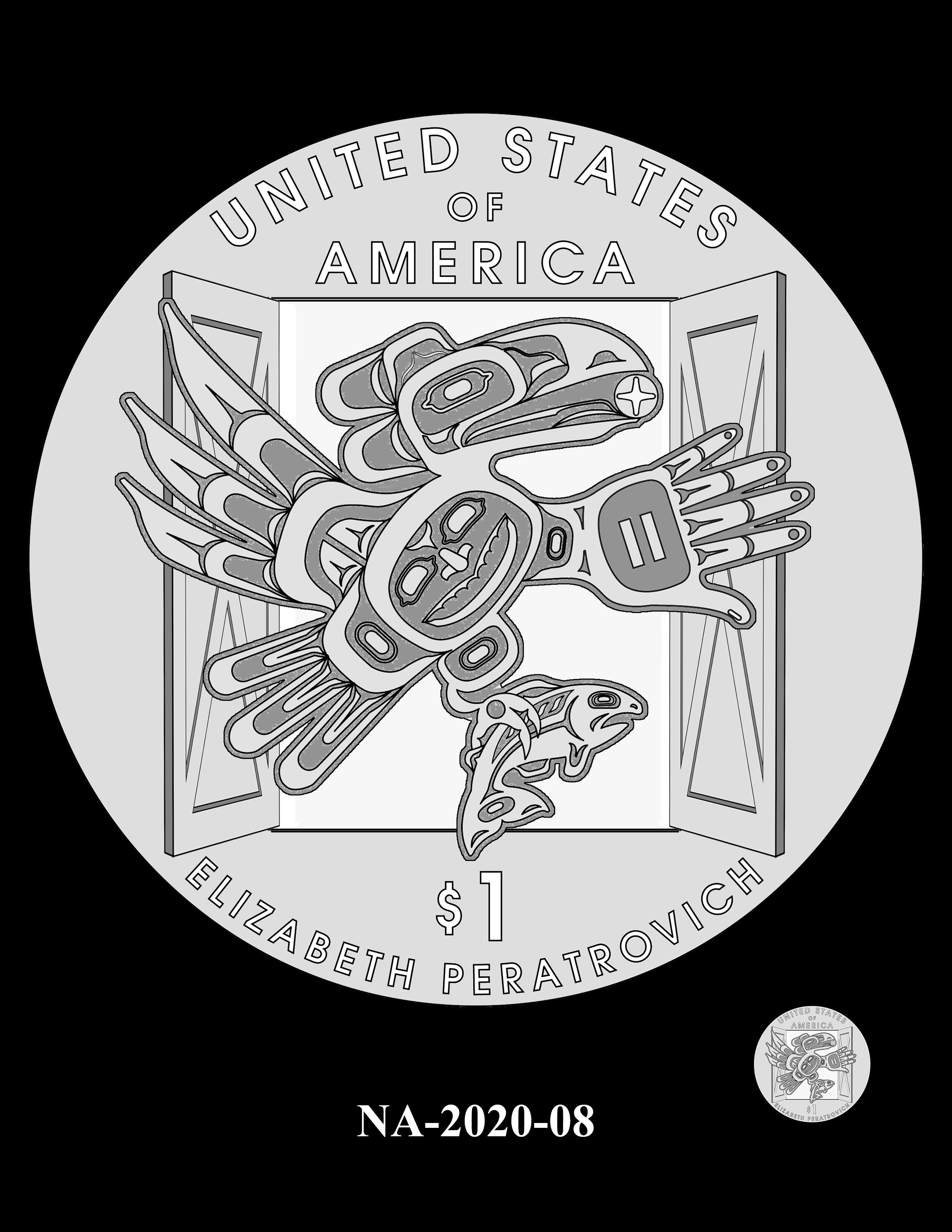 NA-2020-08 --2020 Native American $1 Coin