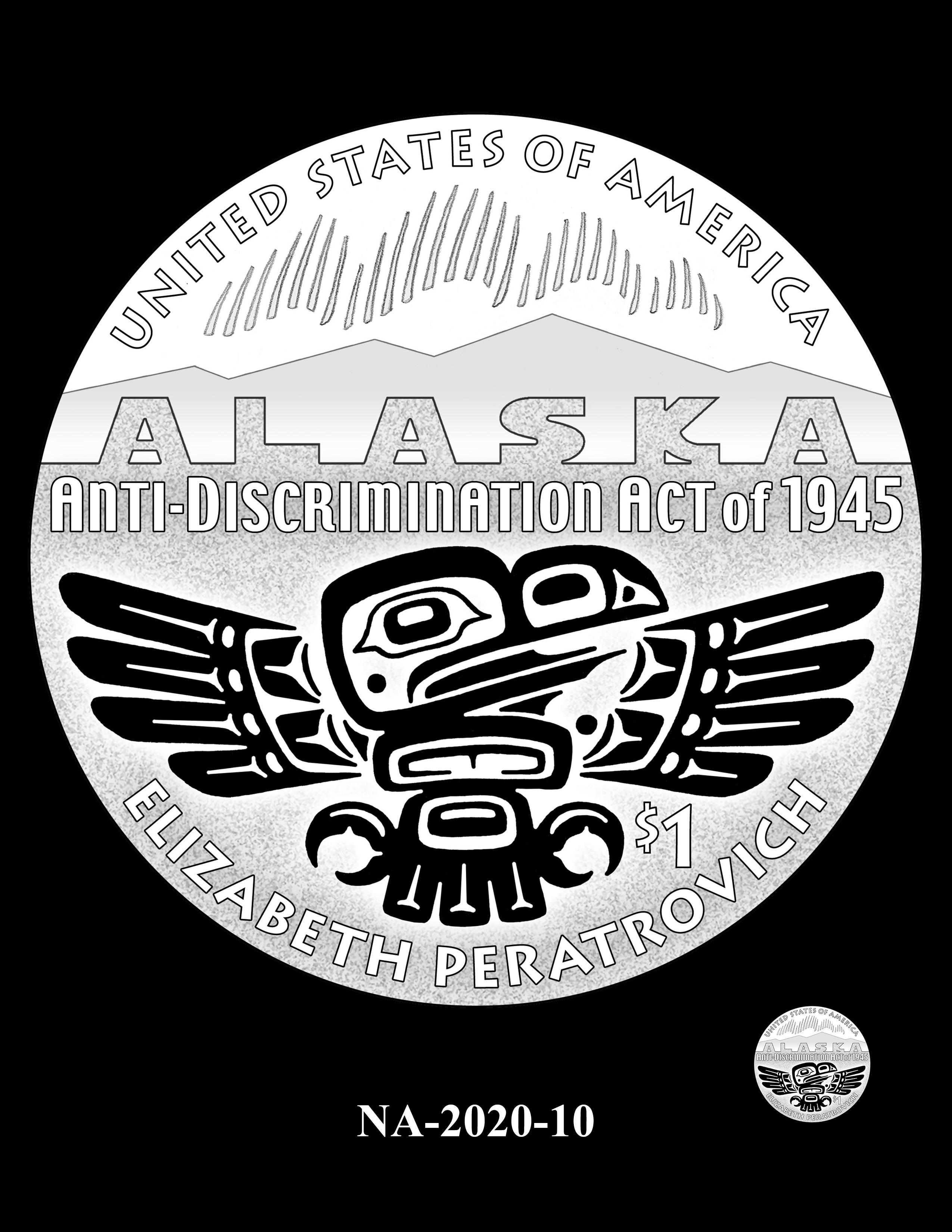 NA-2020-10 --2020 Native American $1 Coin