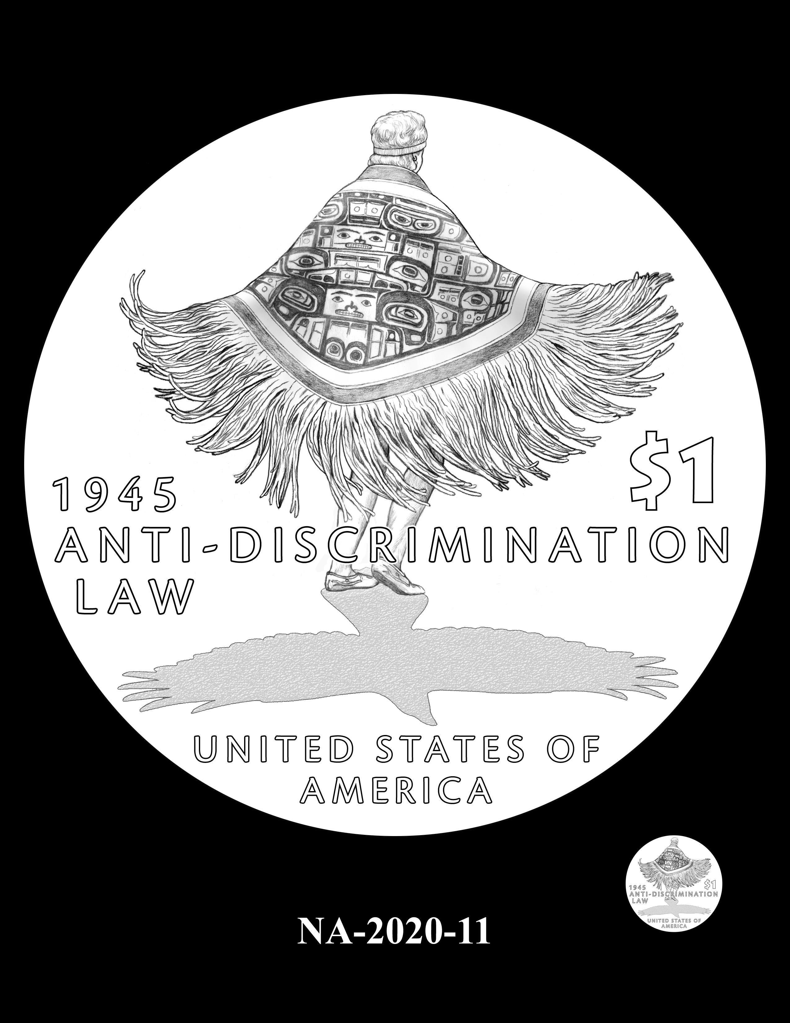 NA-2020-11 --2020 Native American $1 Coin