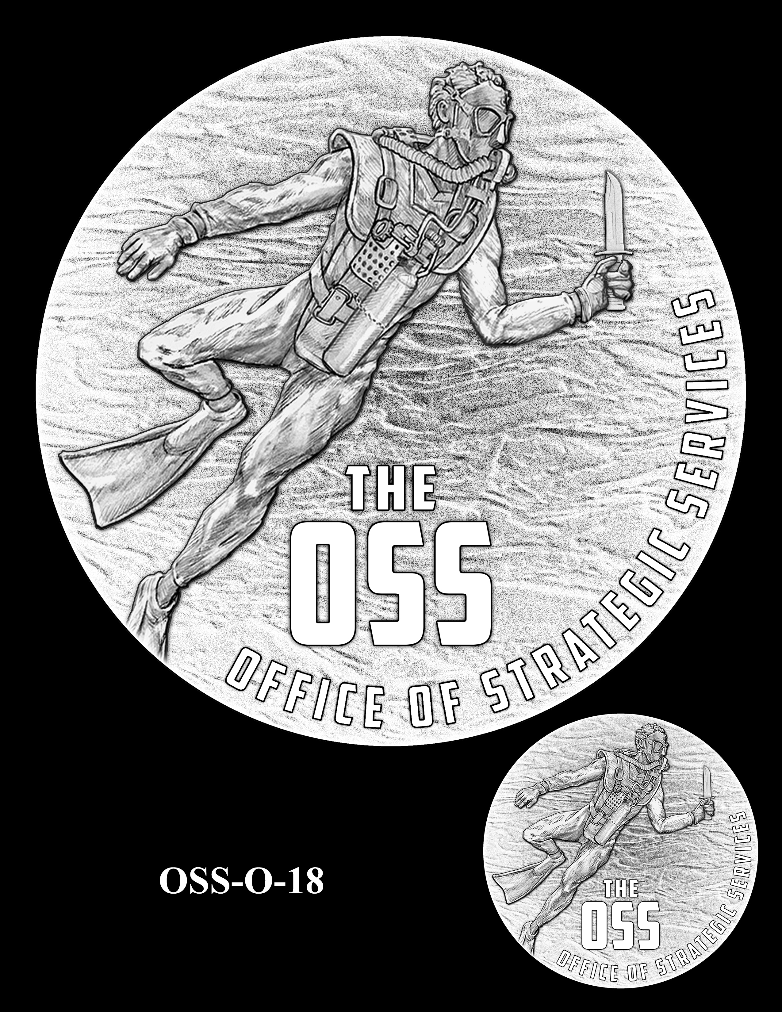 OSS-O-18 -- Office of Strategic Services Congressional Gold Medal