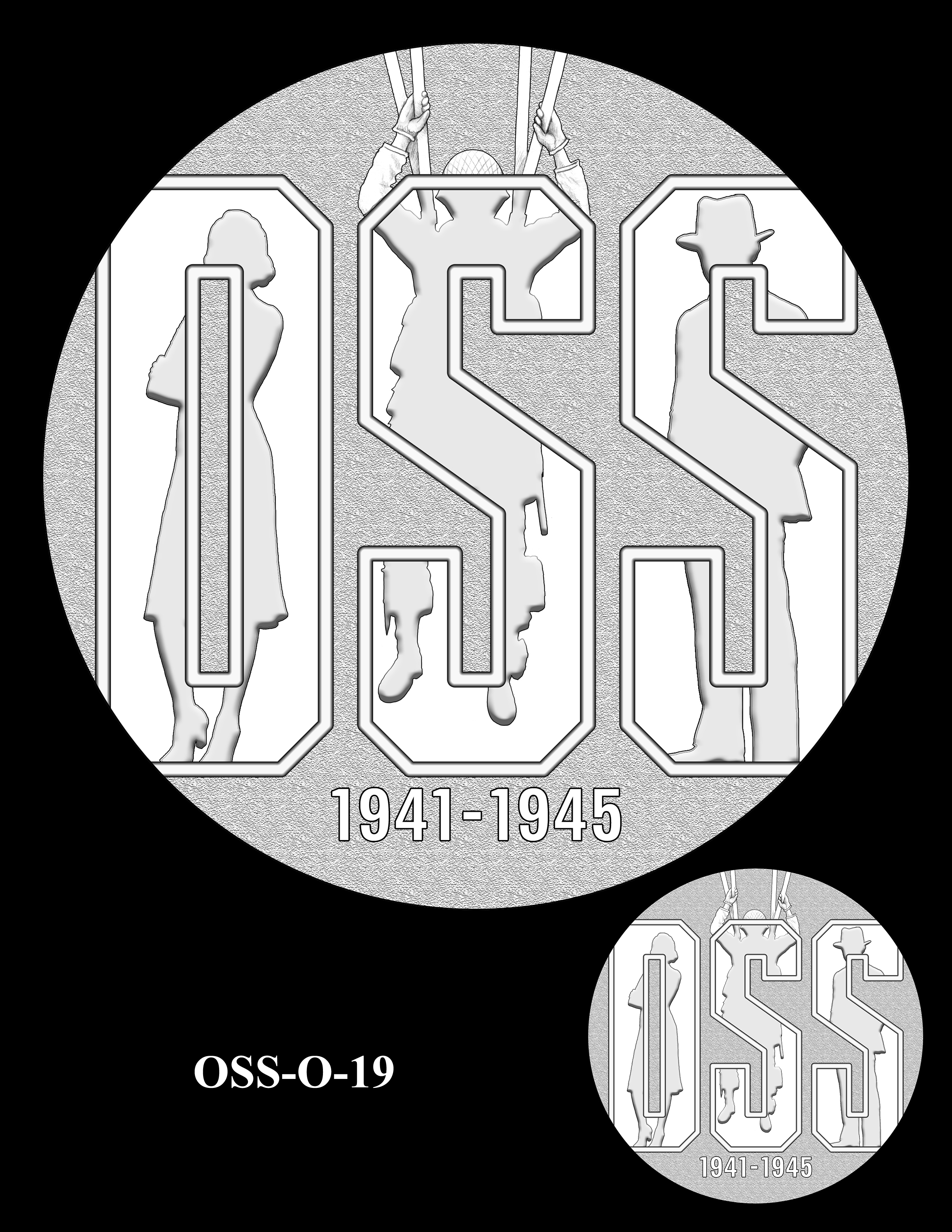 OSS-O-19 -- Office of Strategic Services Congressional Gold Medal