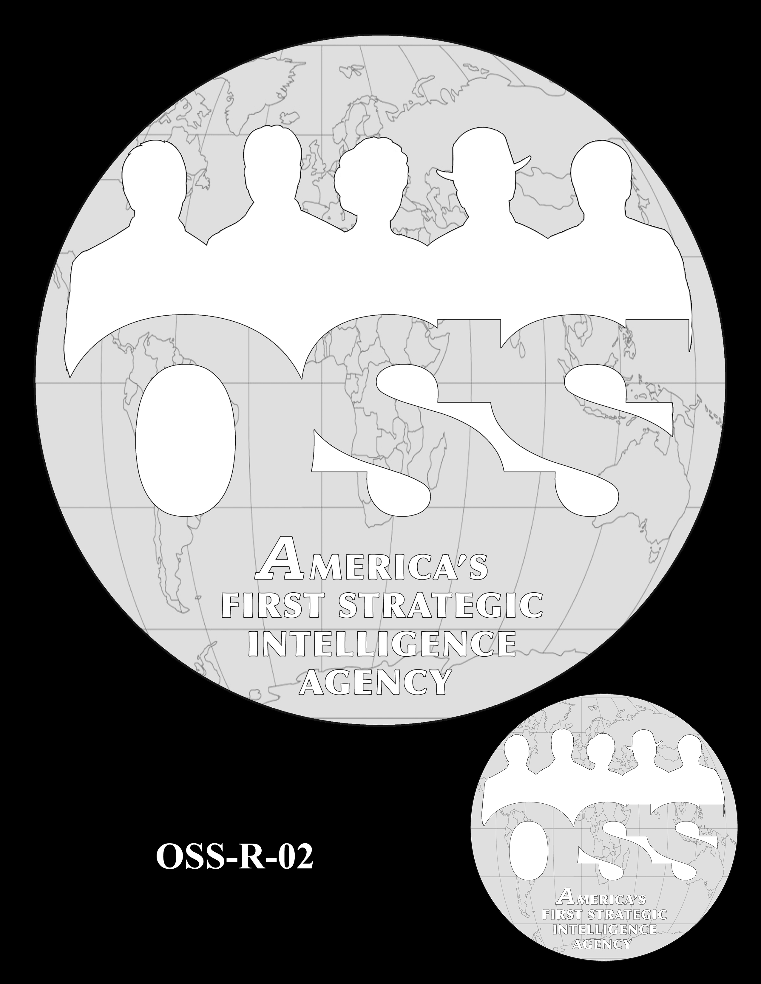 OSS-R-02 -- Office of Strategic Services Congressional Gold Medal